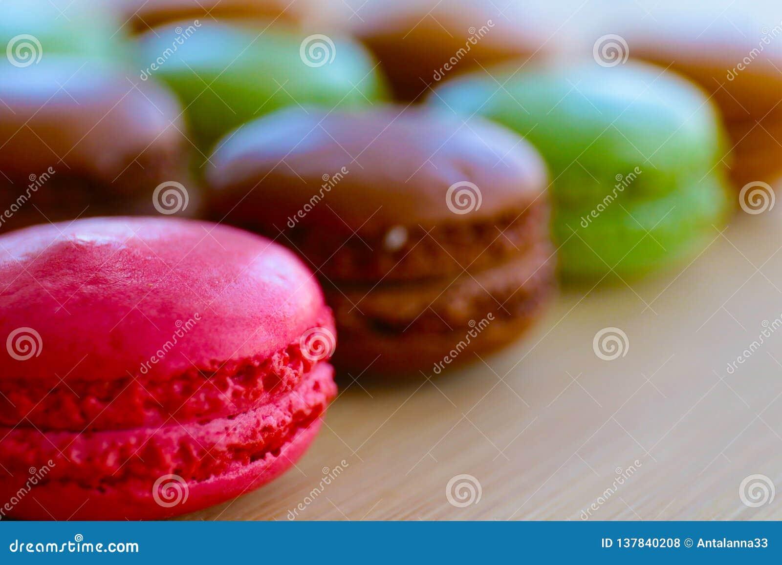Macarons deliziosi per una vita sudata
