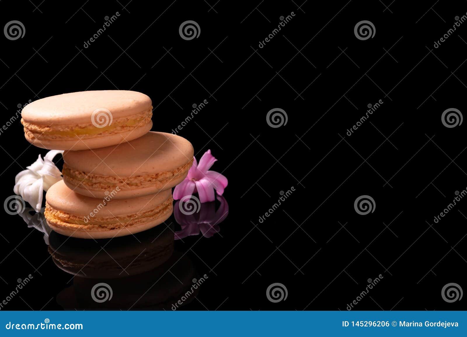 Macarons o macarrones dulces