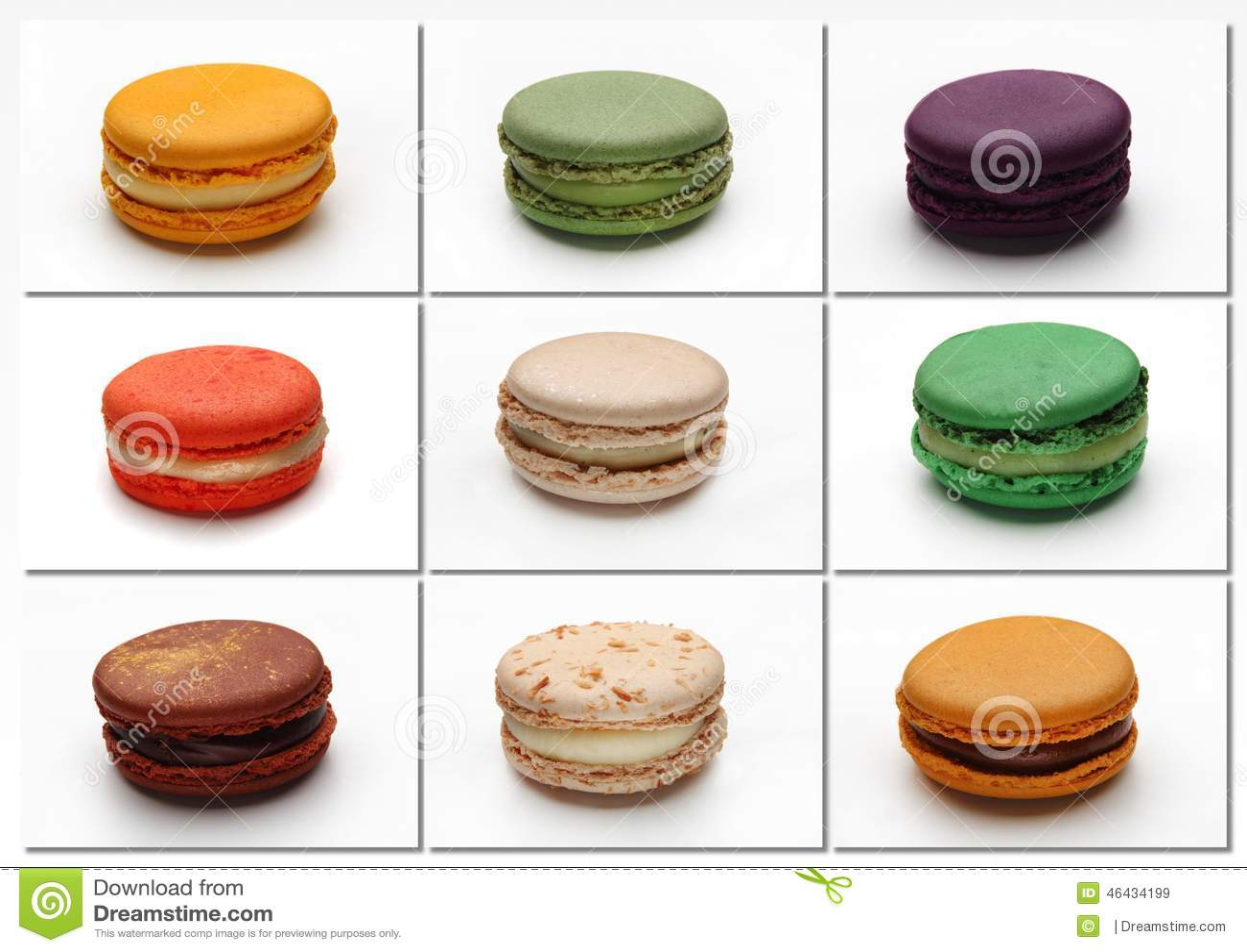 Macarons-Plakat