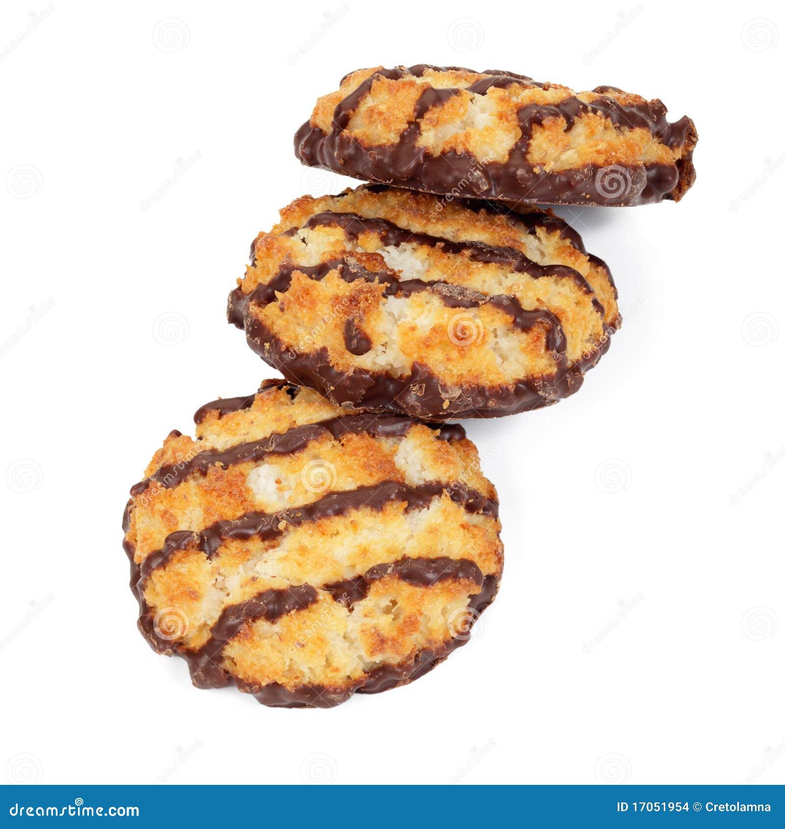 Macaroons σοκολάτας.
