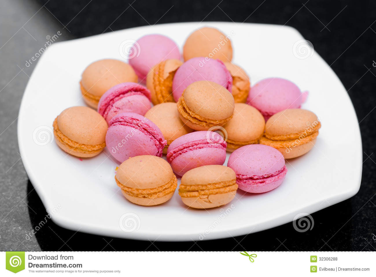 Macaroons Royalty Free Stock Photos - Image: 32306288