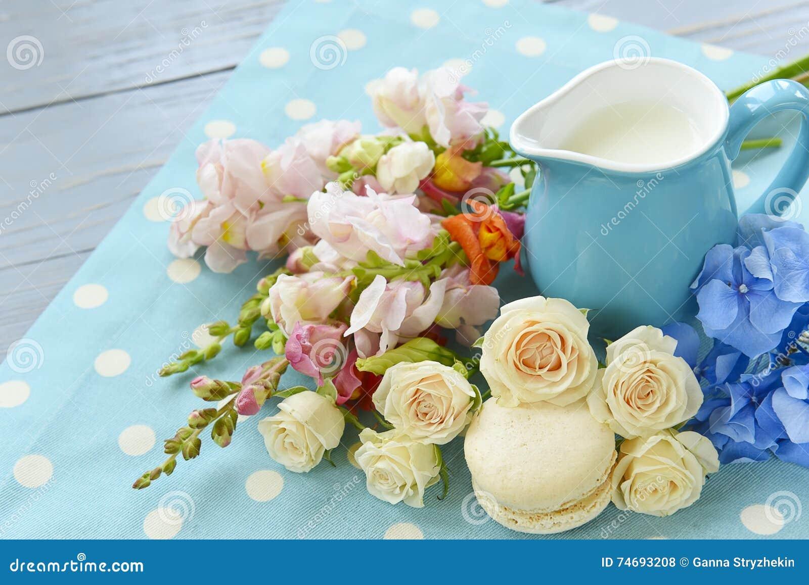 Macarrones y rosas