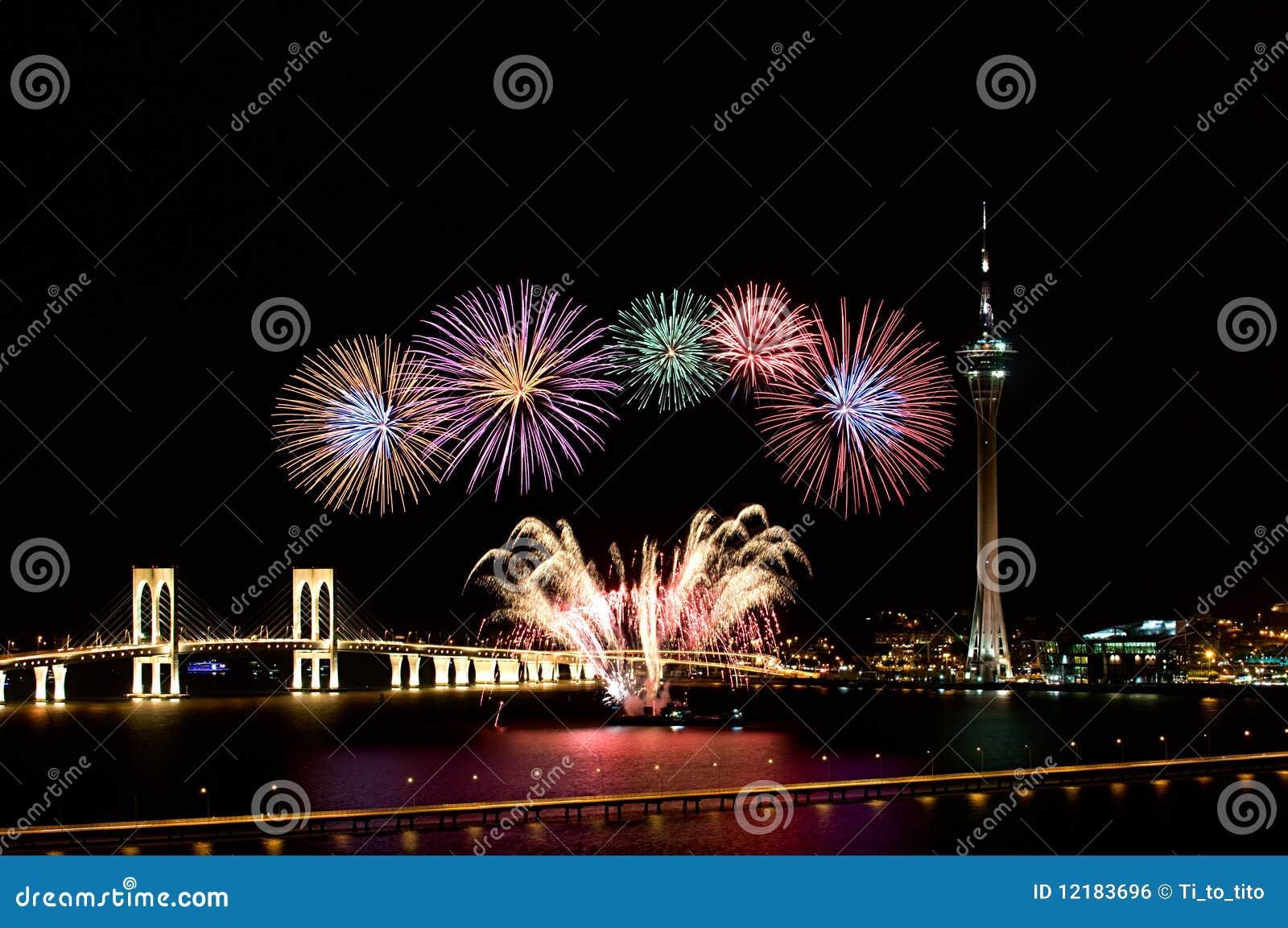 Macauinternational-Feuerwerke