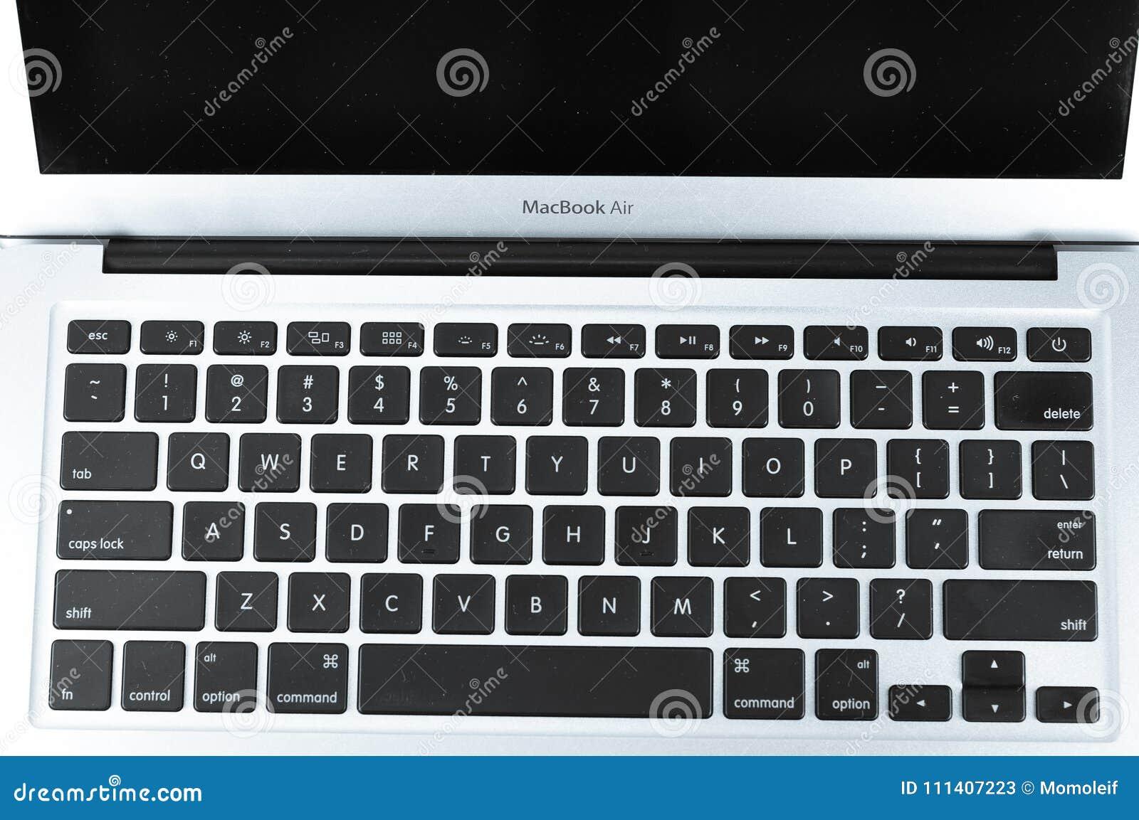 ctrl alt del in macbook air