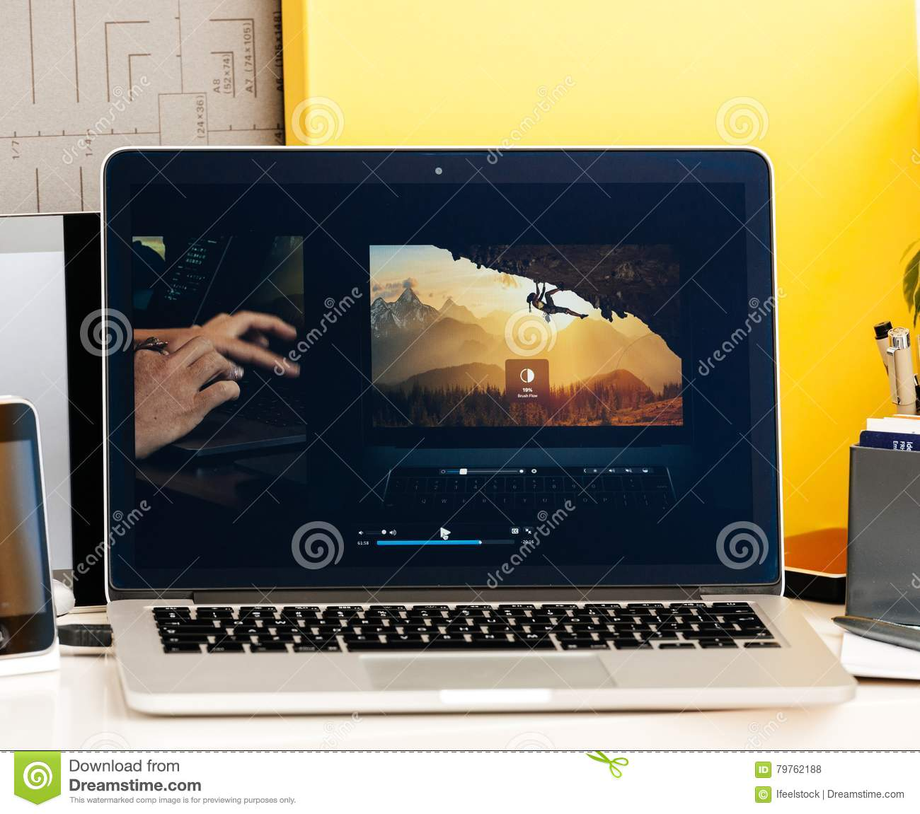 Macbook Pro Touch Bar Presentation Bradee Evans Photoshop