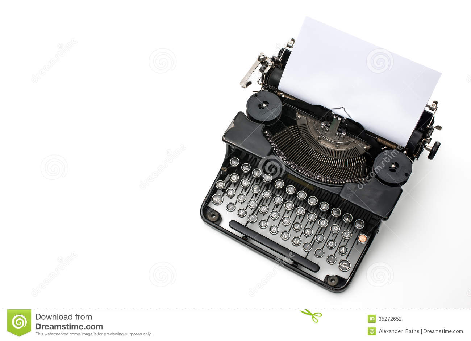 Macchina da scrivere d annata
