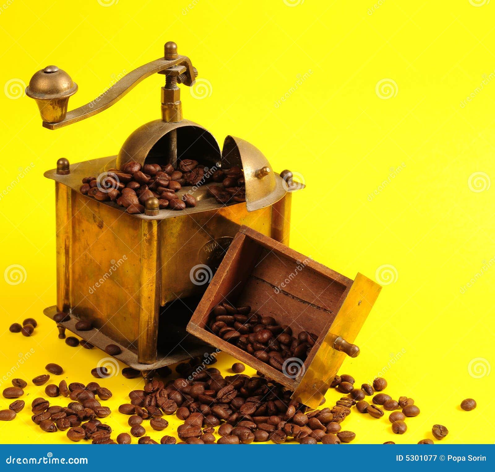 Download Macchina Del Caffè Di Antichità Immagine Stock - Immagine di brown, turco: 5301077