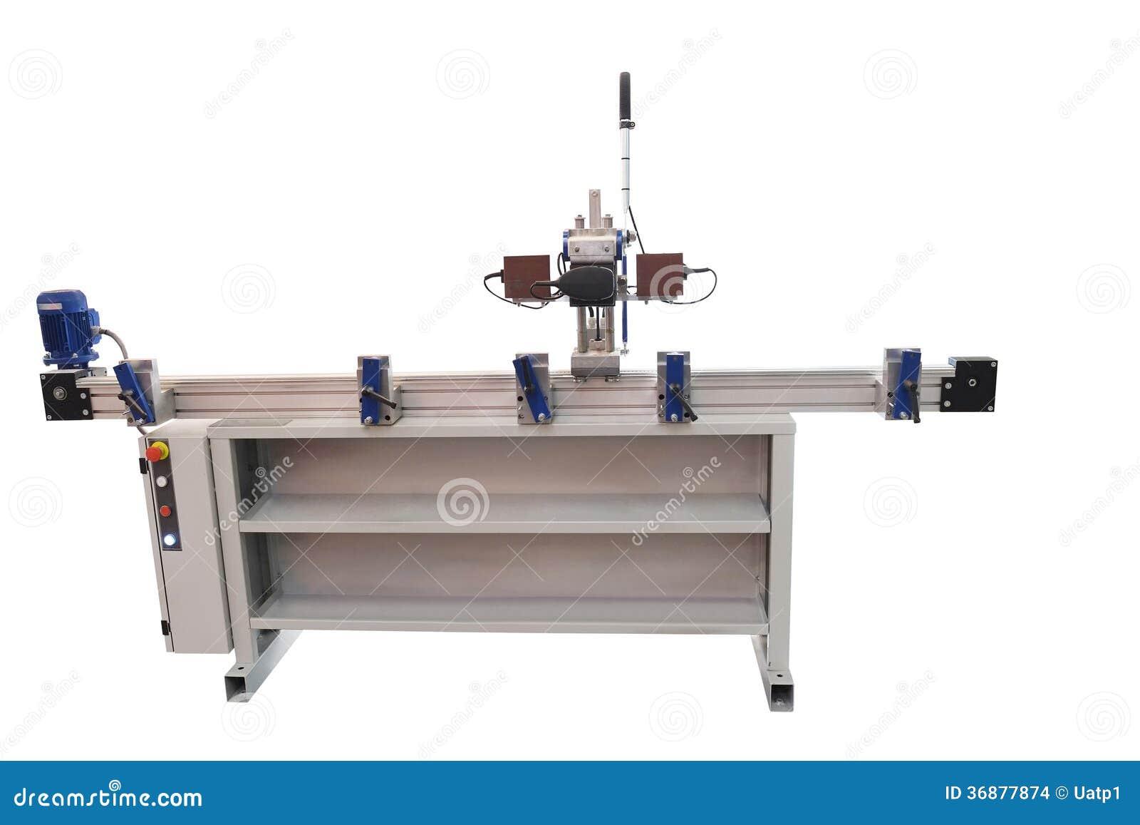 Download Macchina della fabbrica fotografia stock. Immagine di ingegneria - 36877874