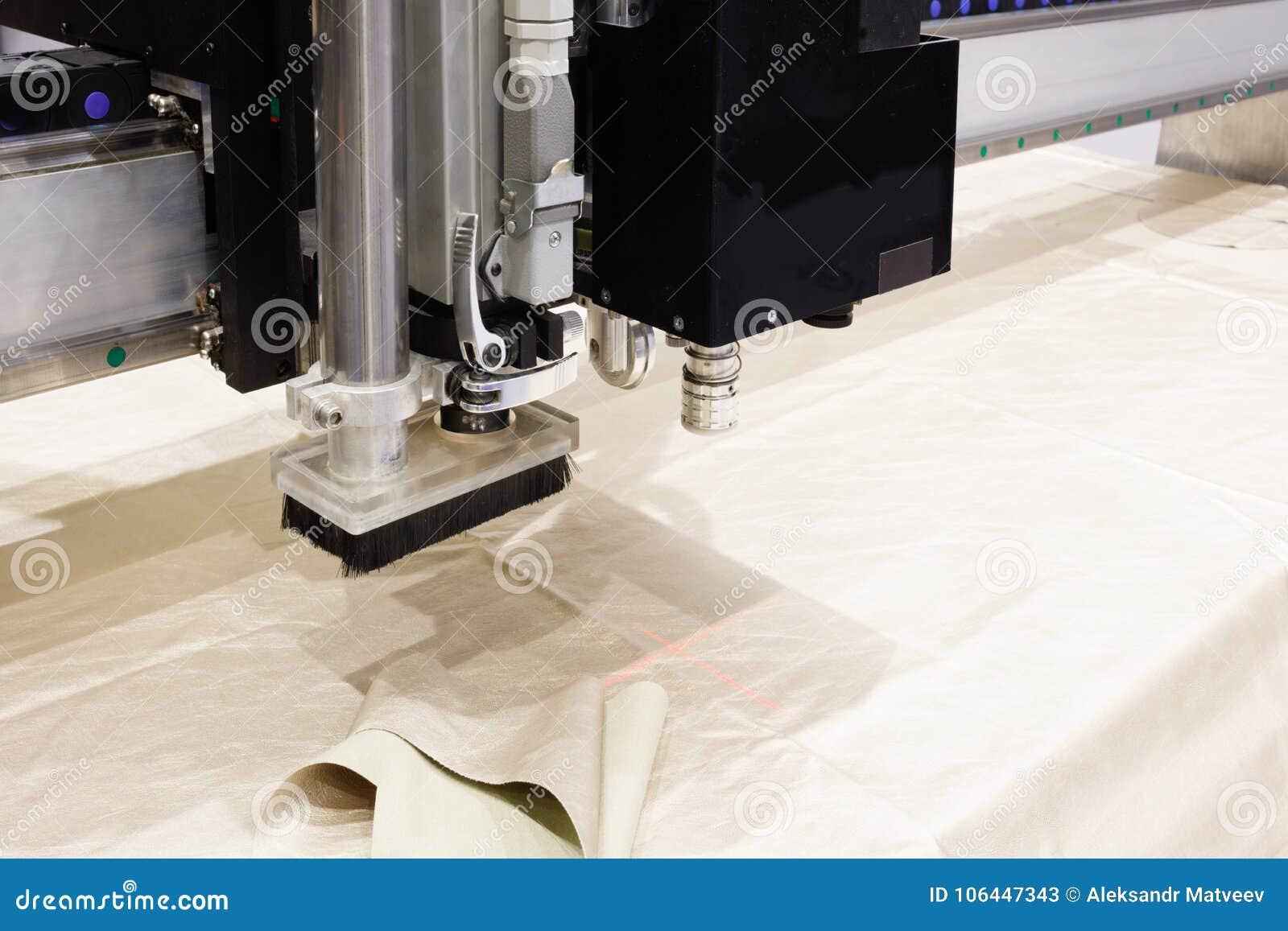 Macchina di CNC per il taglio delle materie tessili e cuoio dei tessuti, marcatura del laser e misura Produzione moderna delle ca