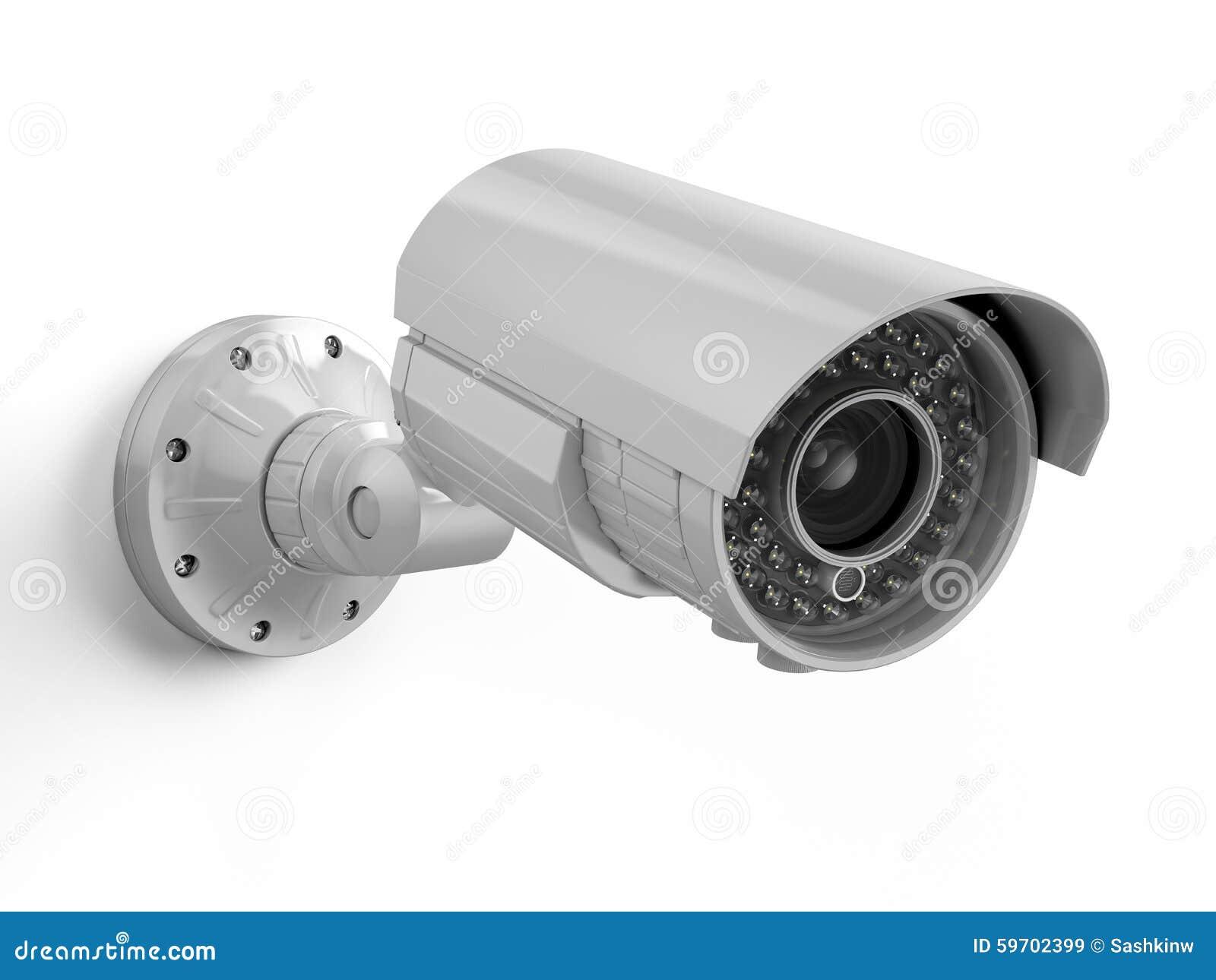 Macchina Fotografica Del CCTV Videocamera Di Sicurezza ...