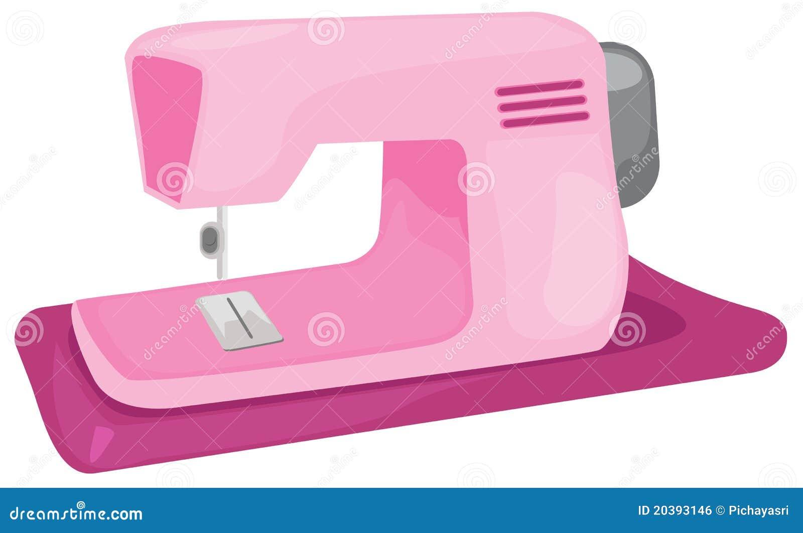 Macchina per cucire illustrazione vettoriale for Migliore macchina da cucire per principianti