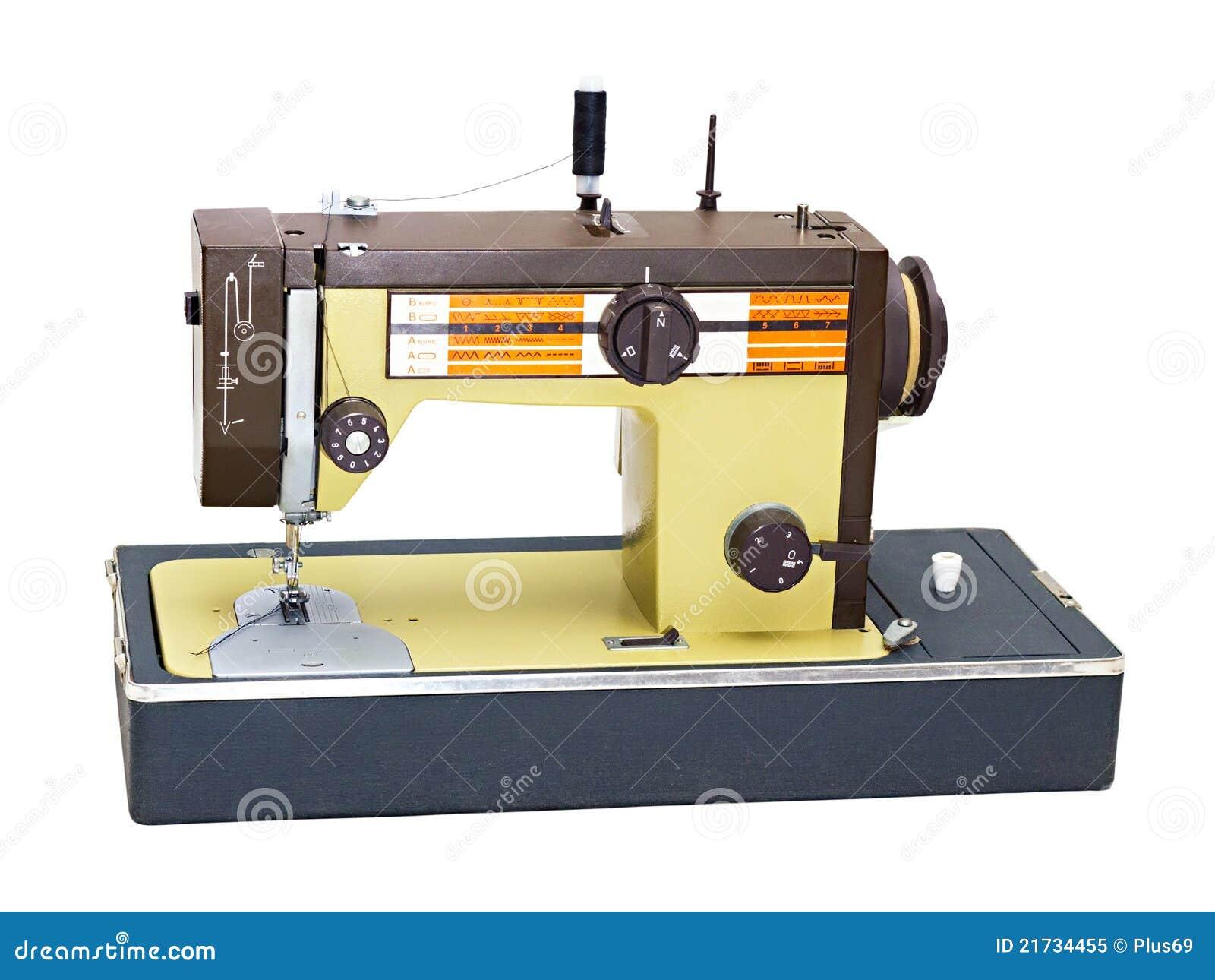 macchina per cucire portatile immagine stock immagine