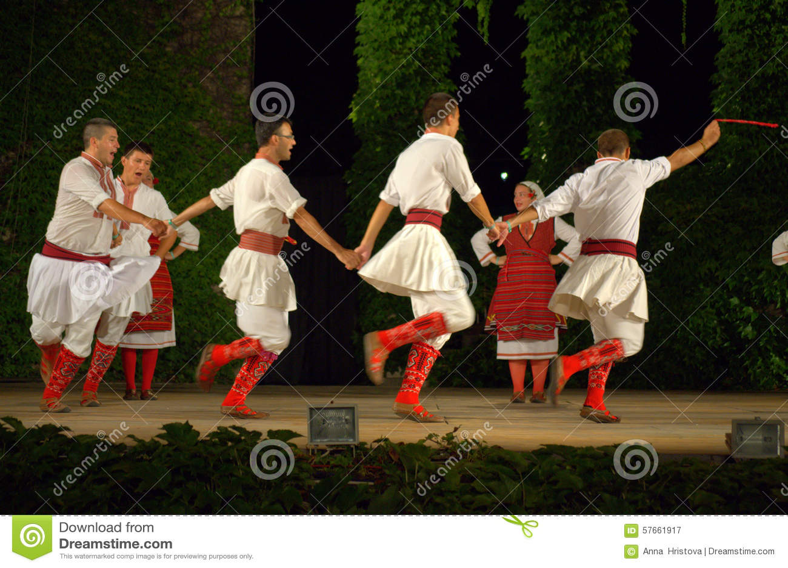 Macedoński tana zespół