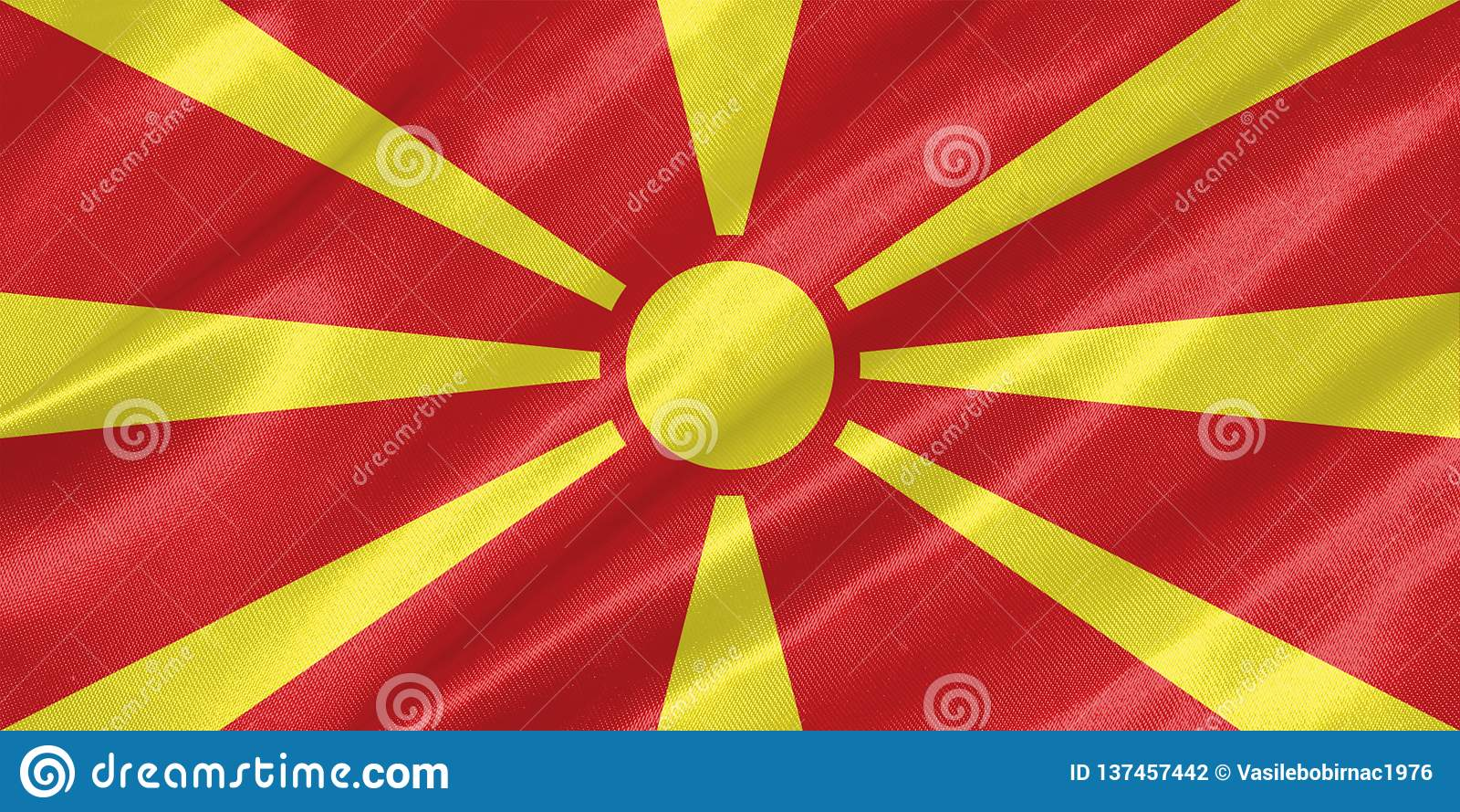 Macedonia flaga