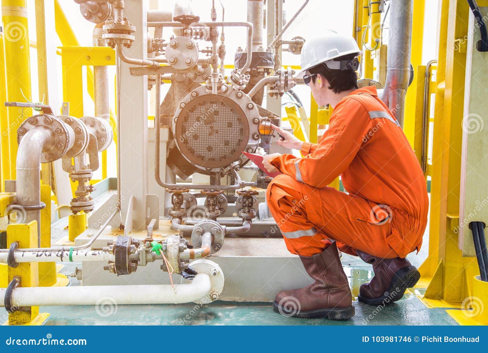 Machinalny inspektorski wizytacyjny nafcianej pompy odśrodkowy typ Na morzu ropa i gaz przemysłu utrzymania aktywność