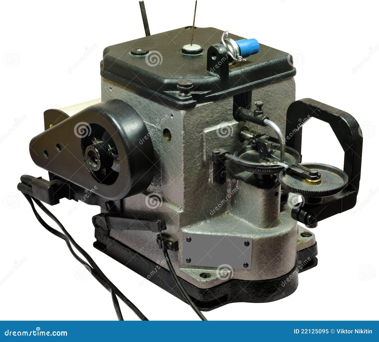 Machine coudre de fourrure photo libre de droits image for Machine a coudre 3d