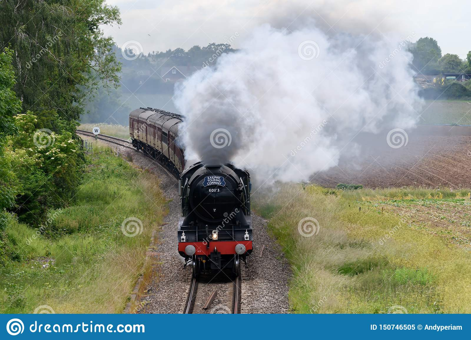 Machine à vapeur volante de Scotsman