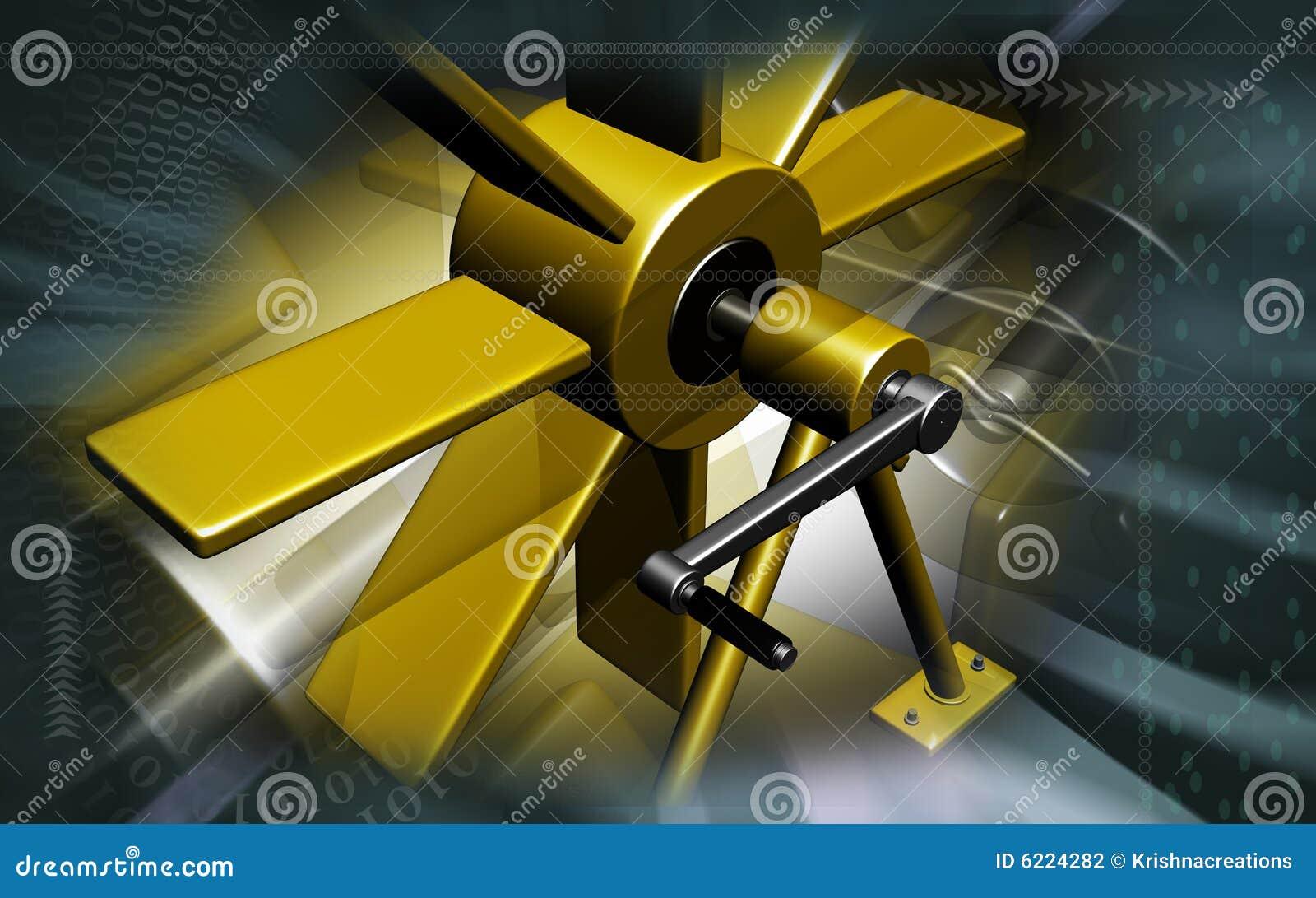 machine blade