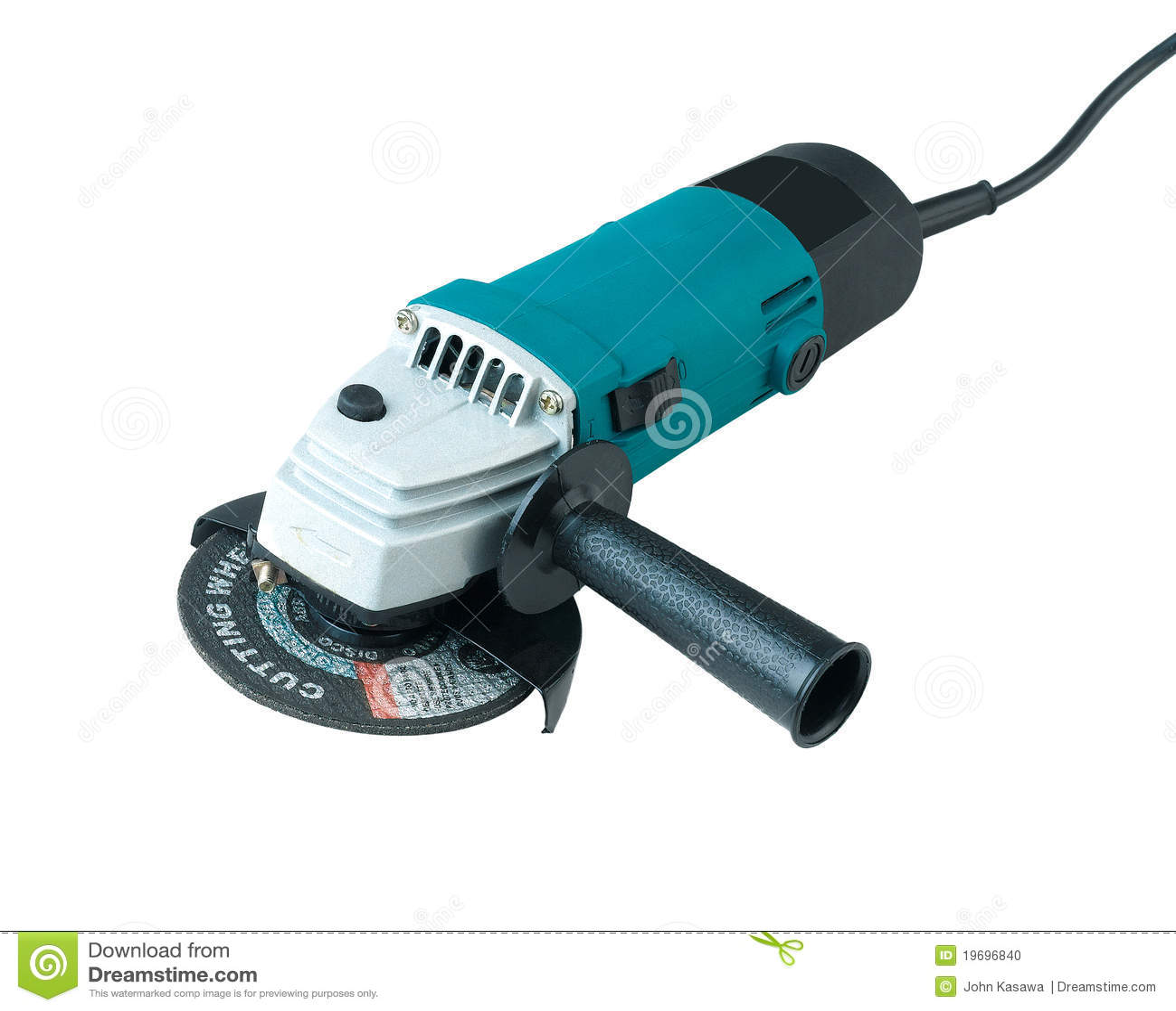 Machine de découpage électrique de main