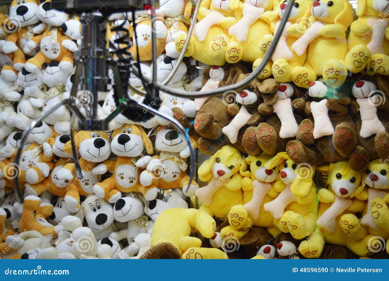 Machine de griffe - jouets mous