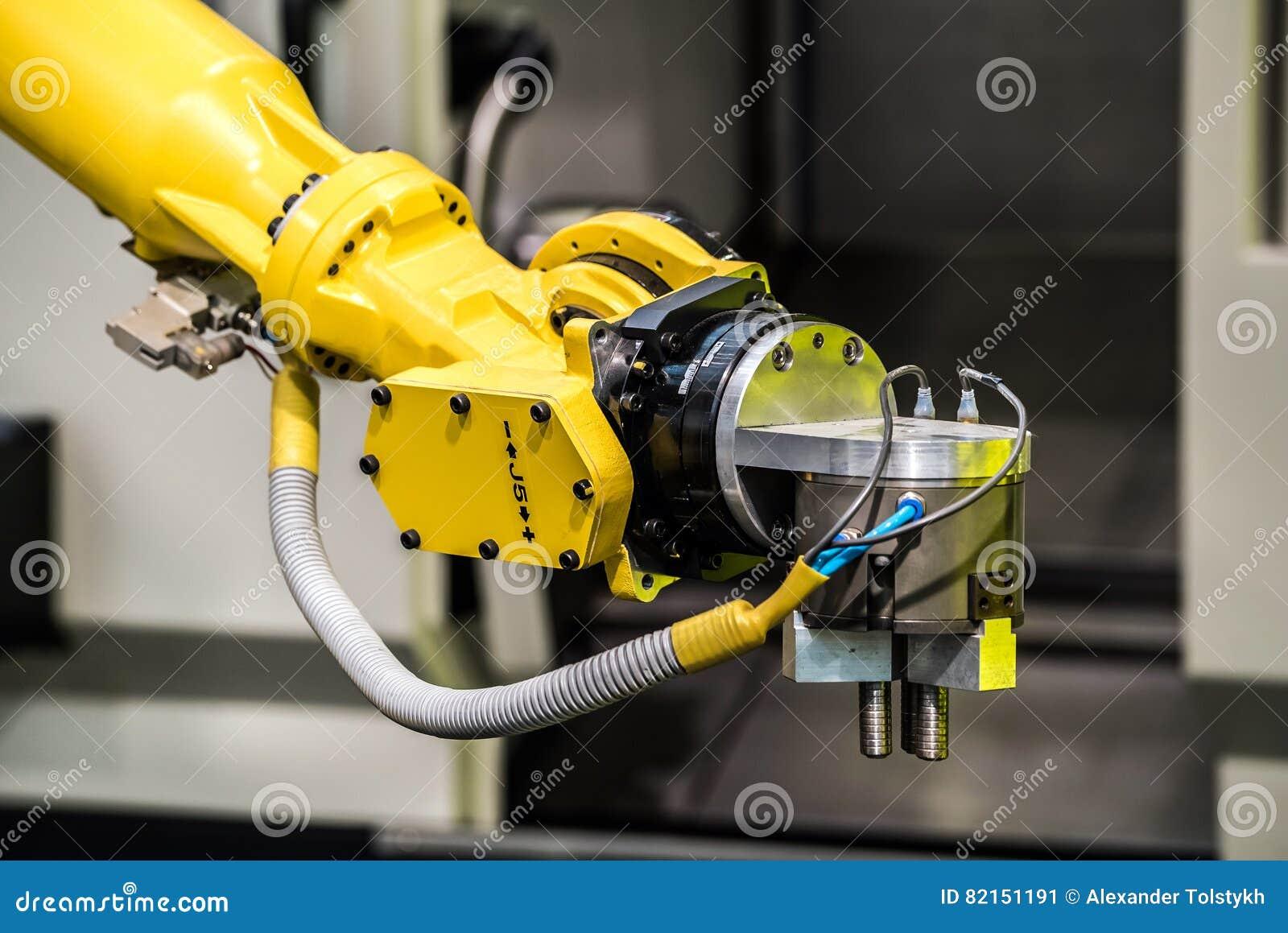 Machine de robot industriel