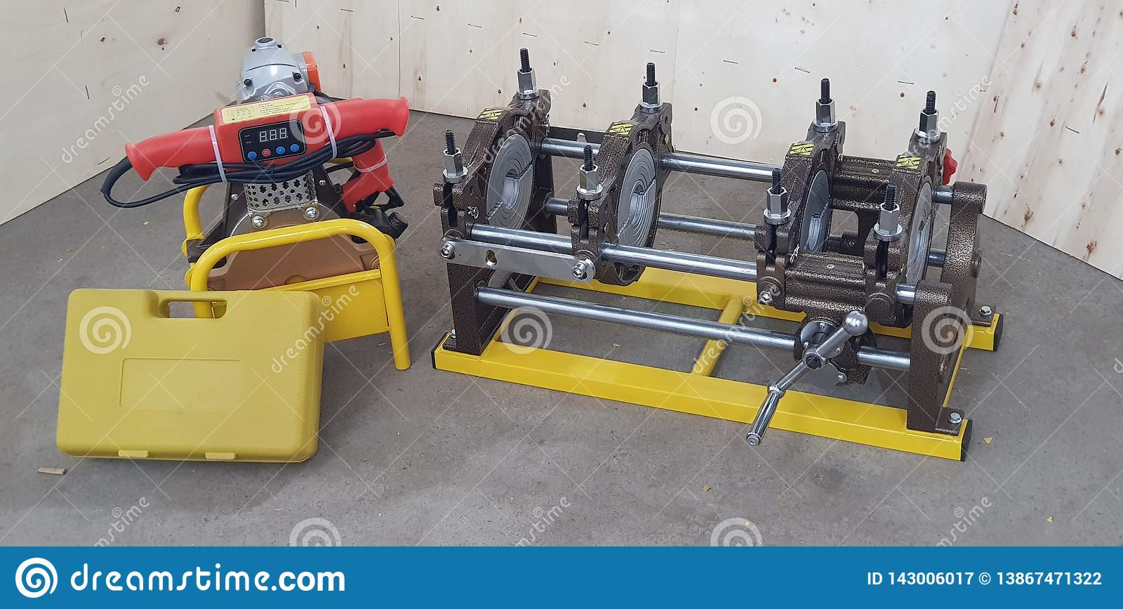 Machine de soudure de tuyau de HDPE d opération de Munal
