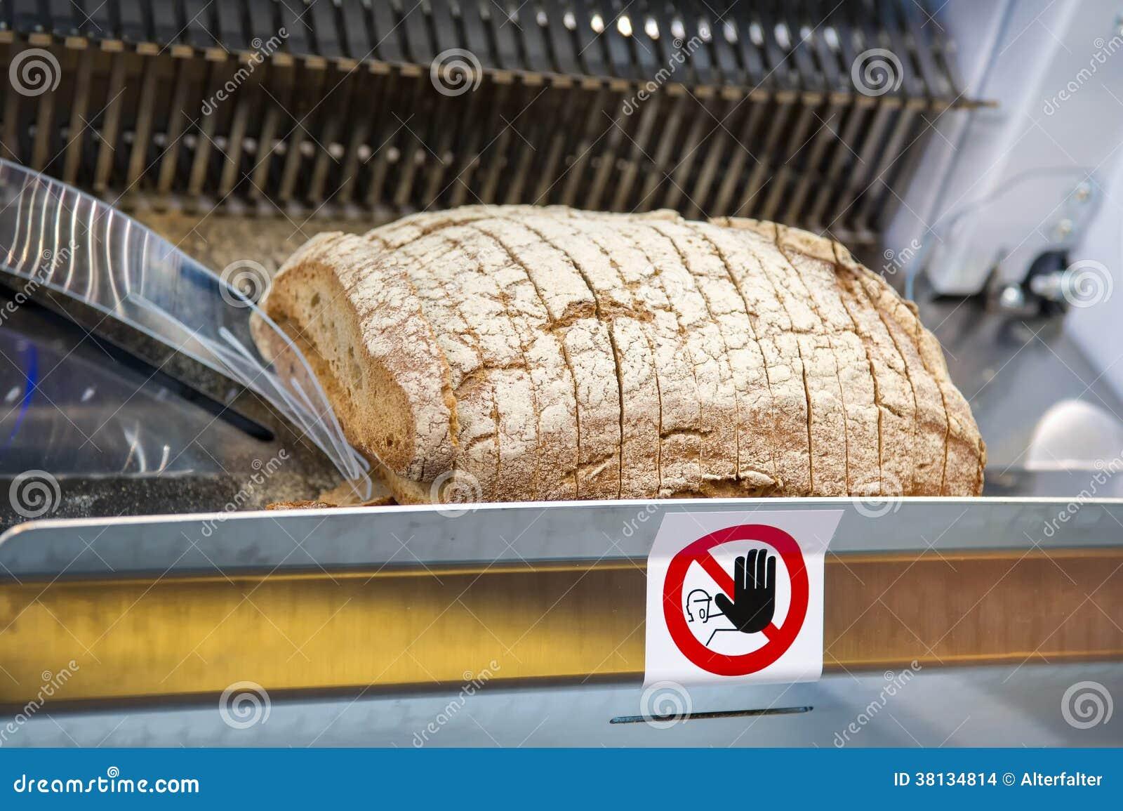 Machine de trancheuse de pain photo stock image 38134814 - Machine a pain boulanger ...