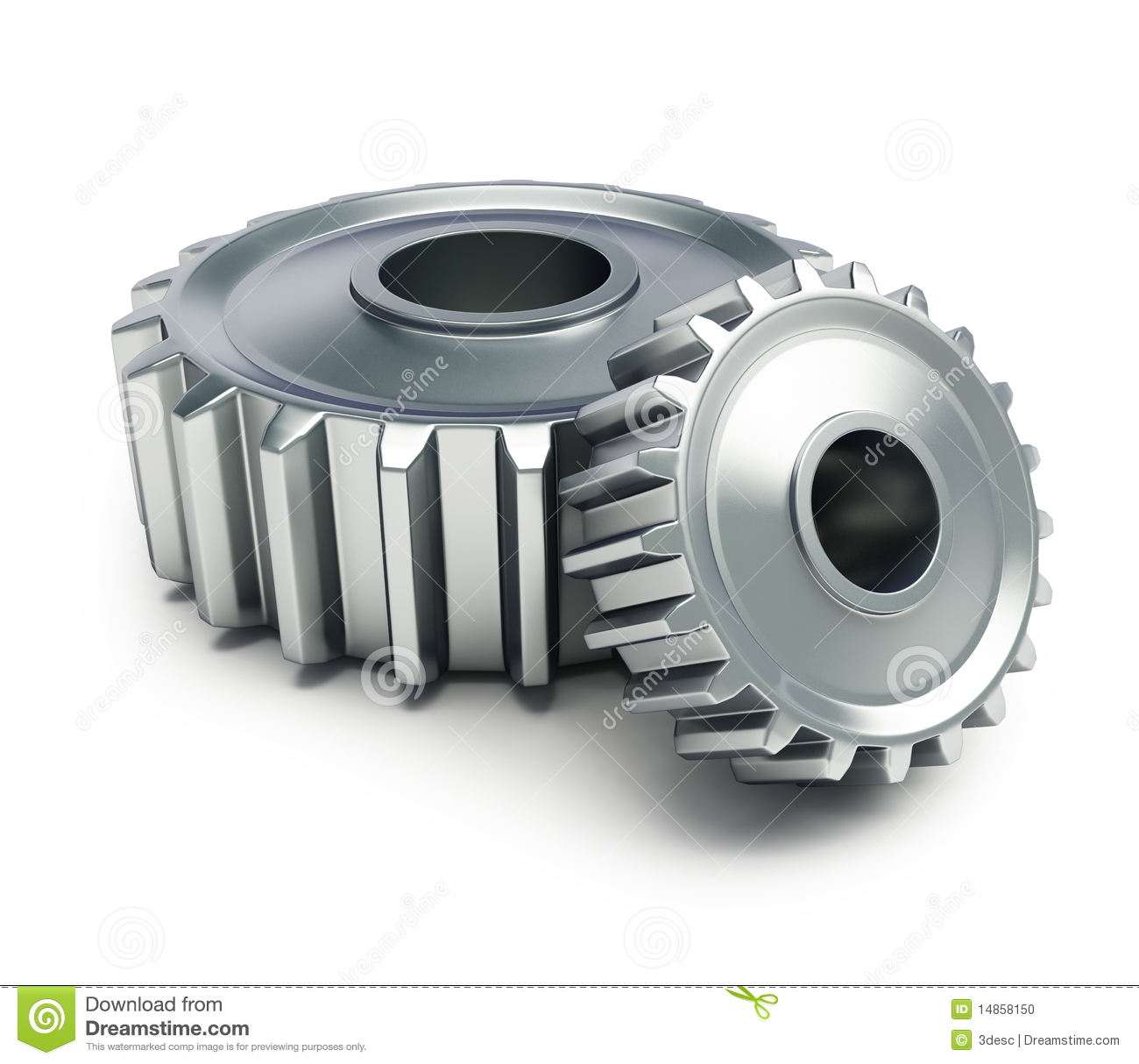 Machine Gear Stock Photo - Image: 14858150