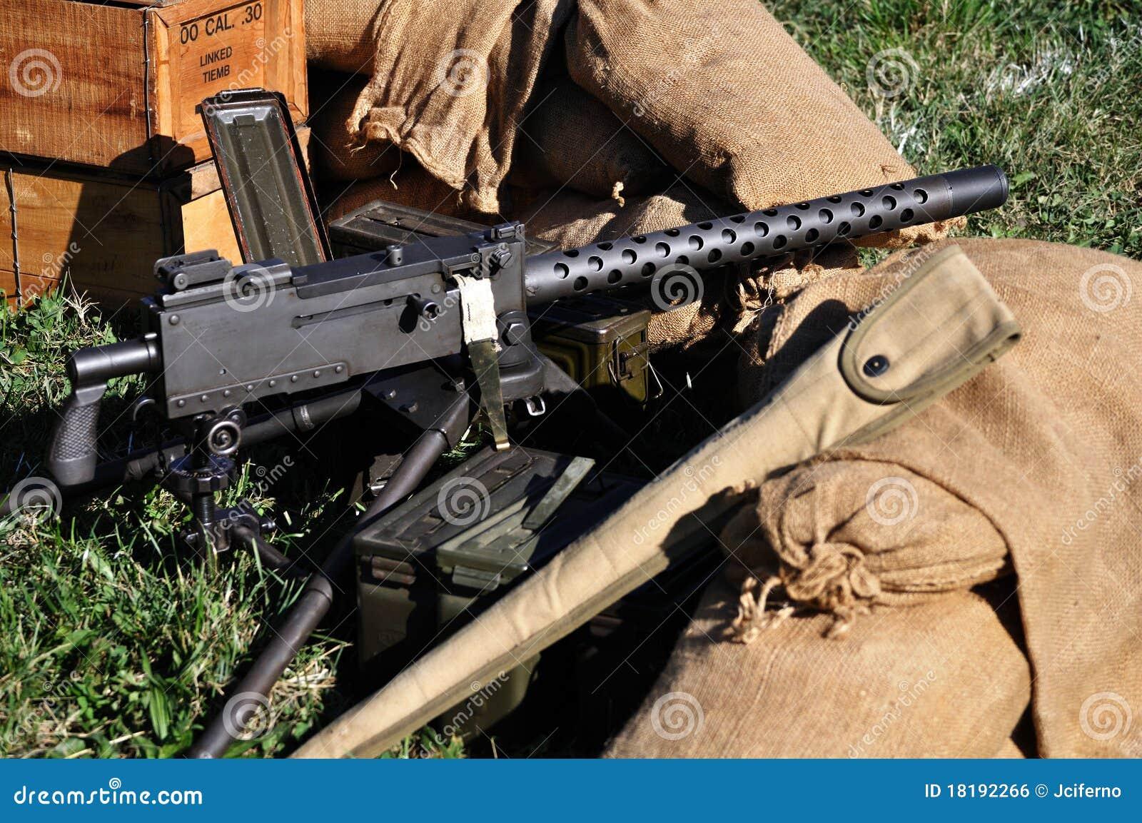 machine gun one more time