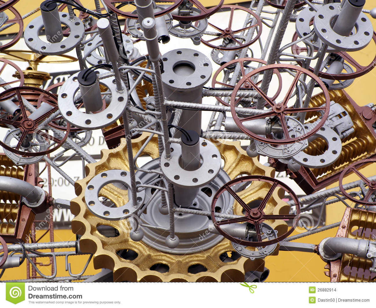 Pic Of Machinery Components : Machine parts stock images image