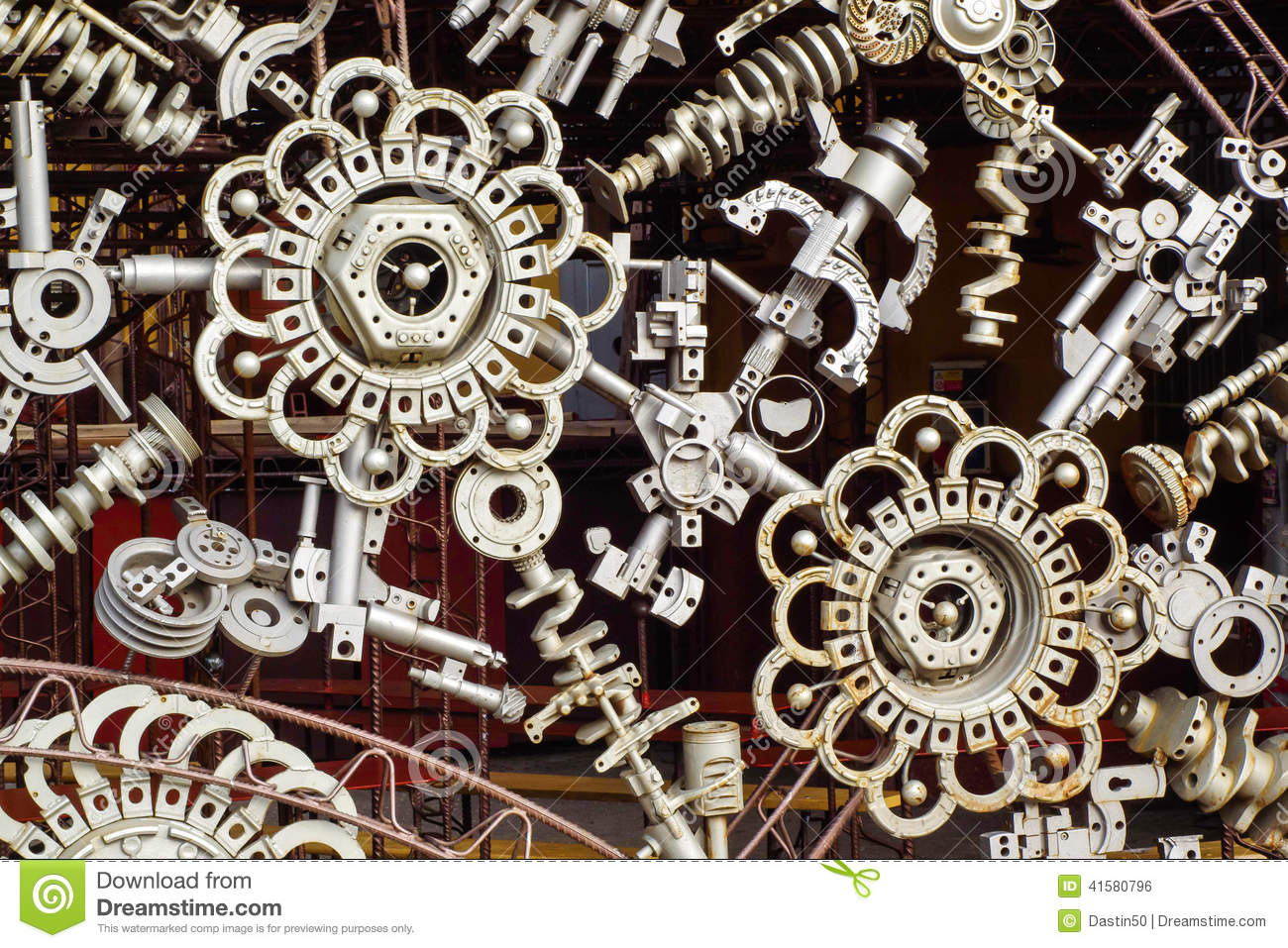 Pic Of Machinery Components : Machine parts background stock photo image