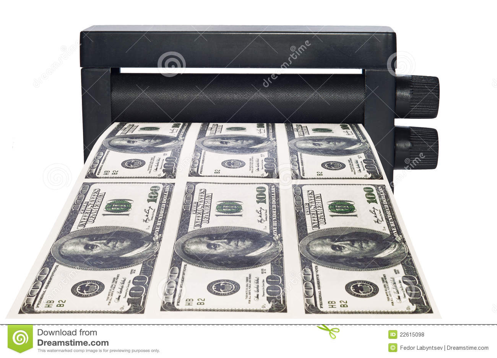 money printer machine