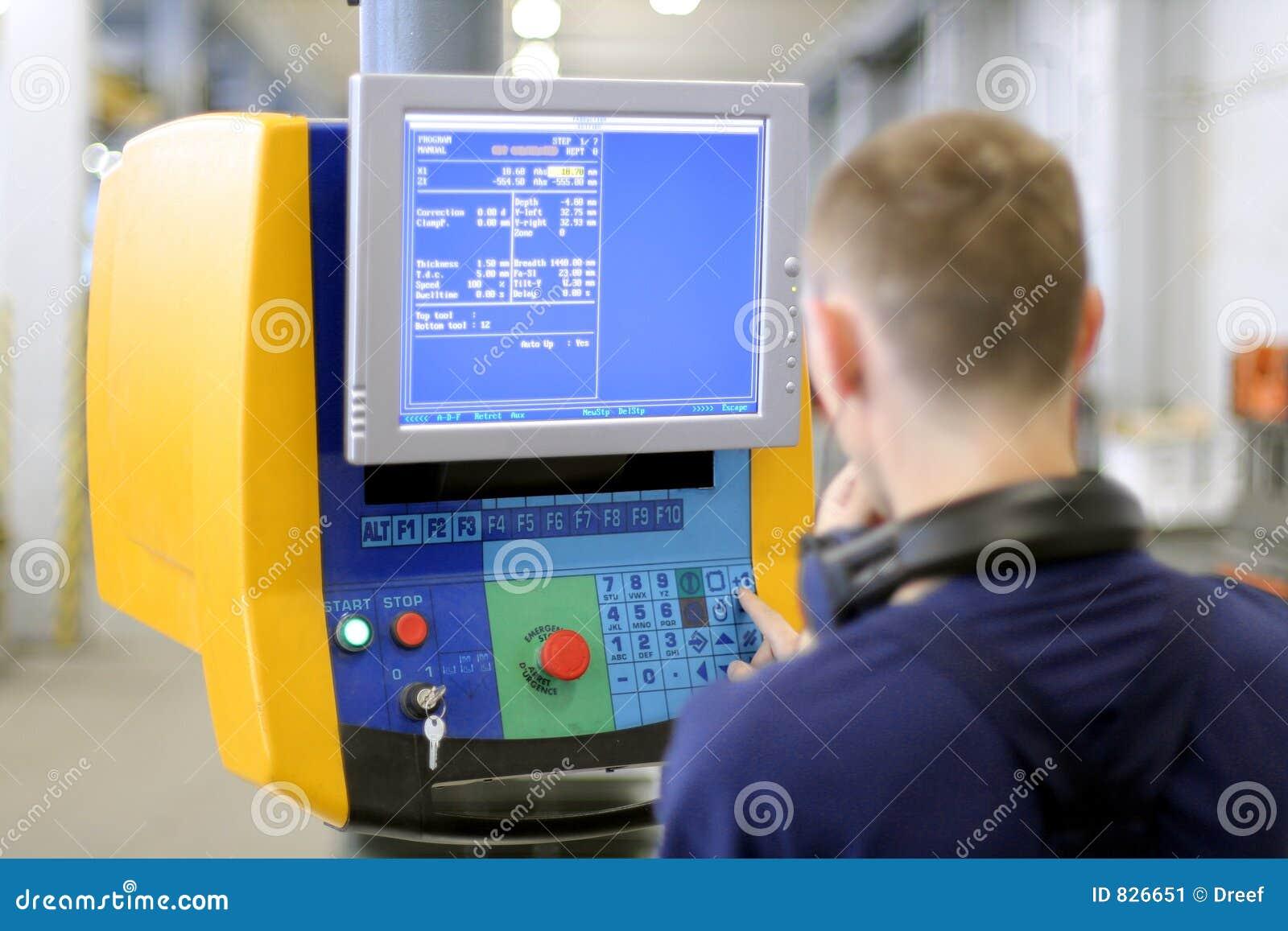 Machine programmable