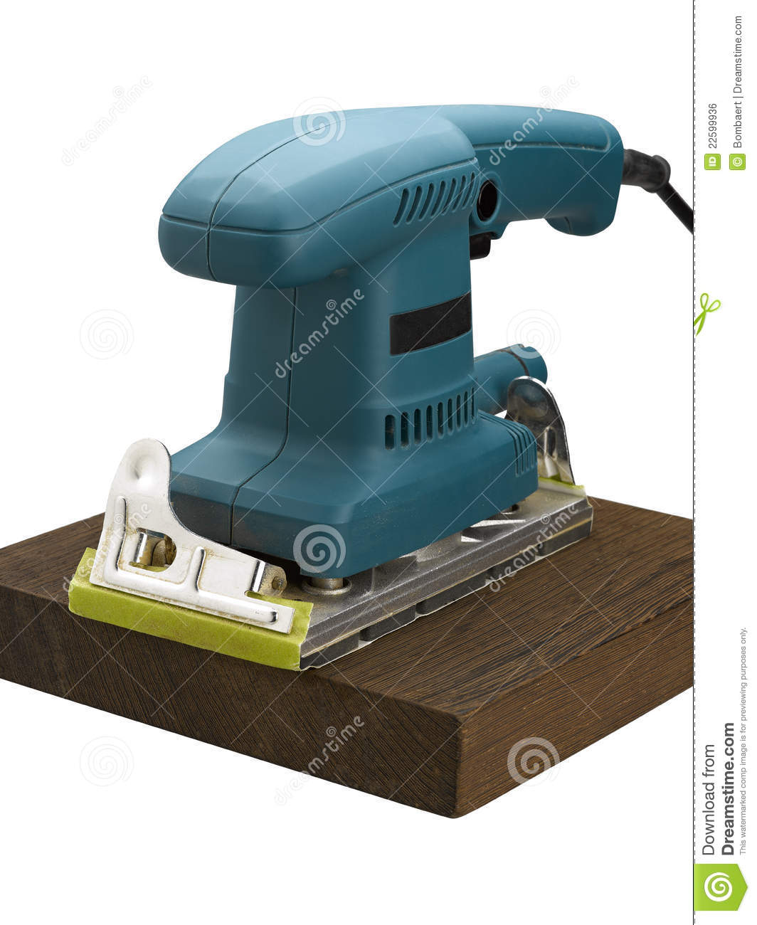 Machine For Sanding Royalty Free Stock Image