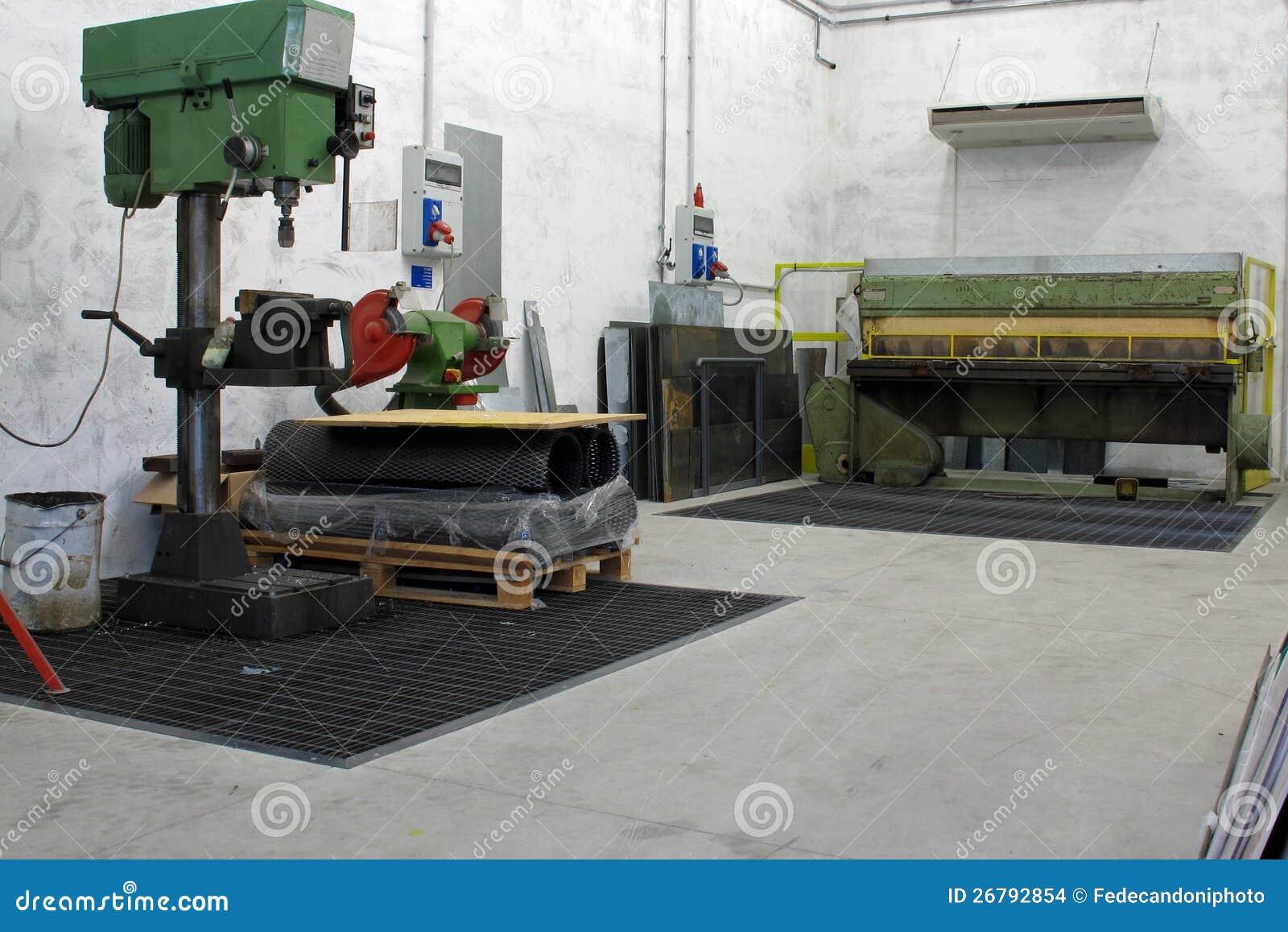 cnc lathe machine shop