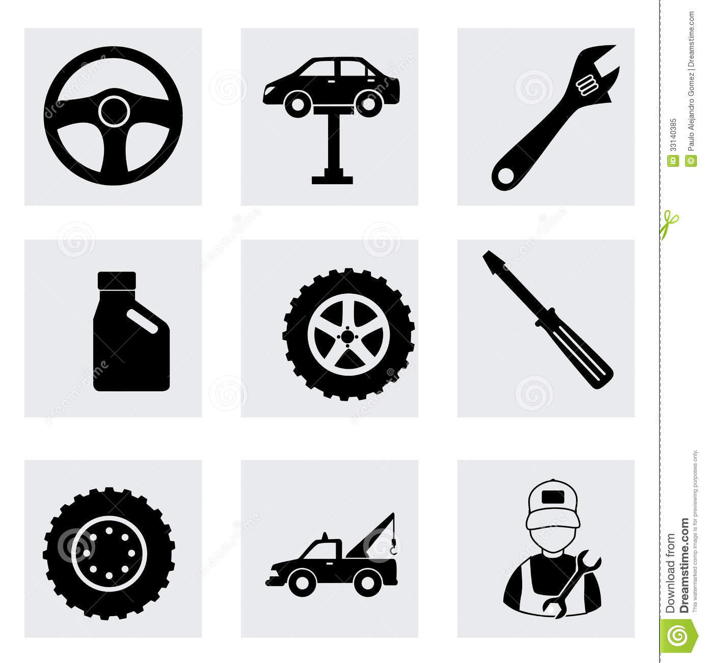 machine shop stock vector image of silhouettes