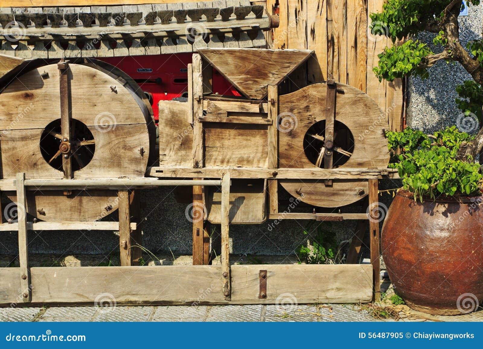 Machine traditionnelle chinoise de grain de combat