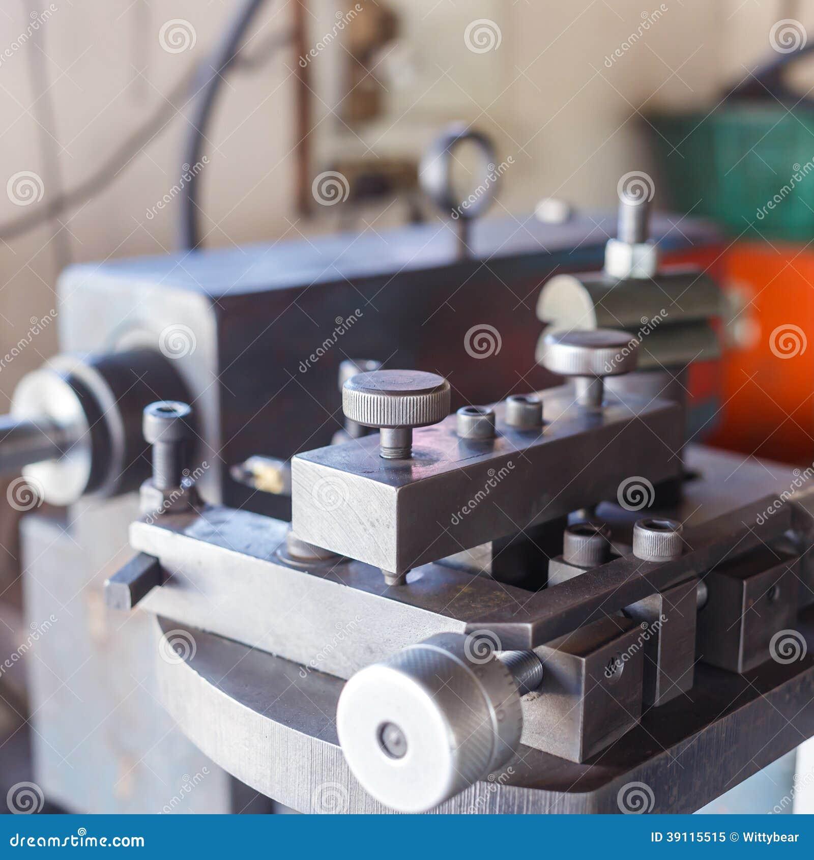 Machinecontrole in fabriek