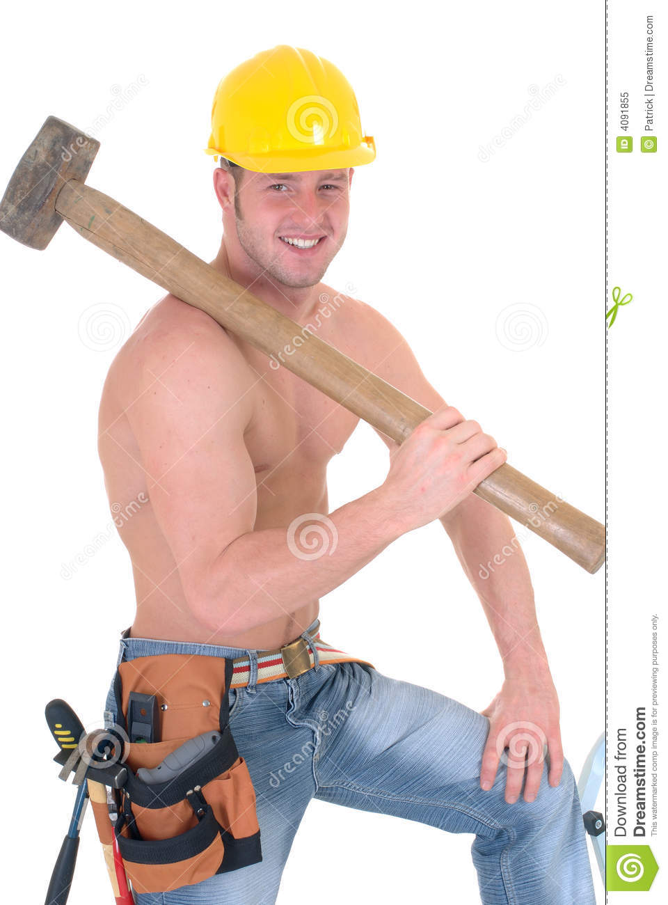 Handsome Construction Workers