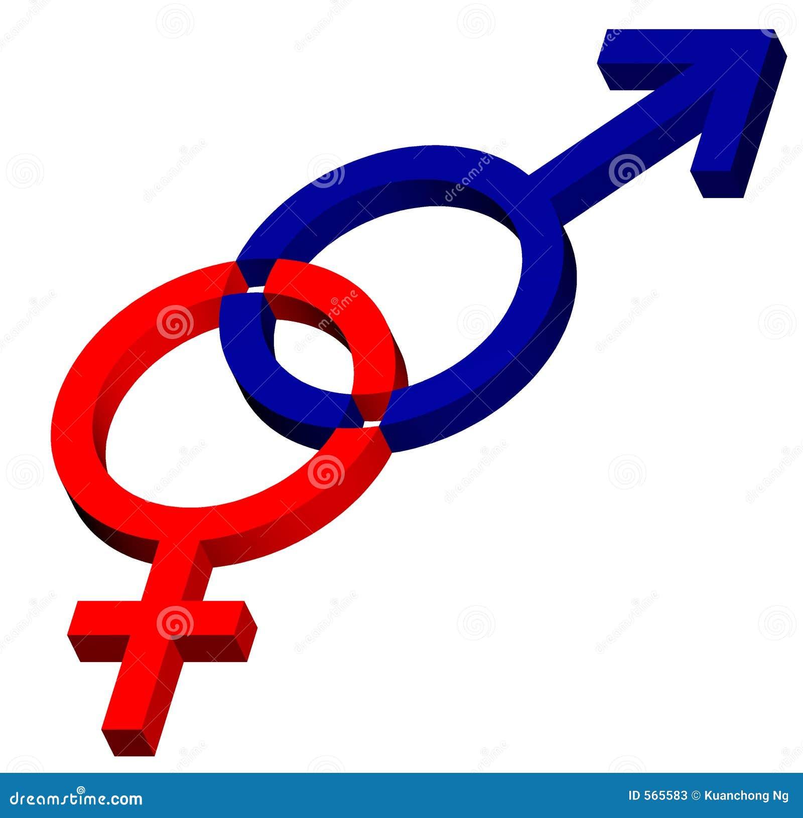 Macho - símbolo fêmea