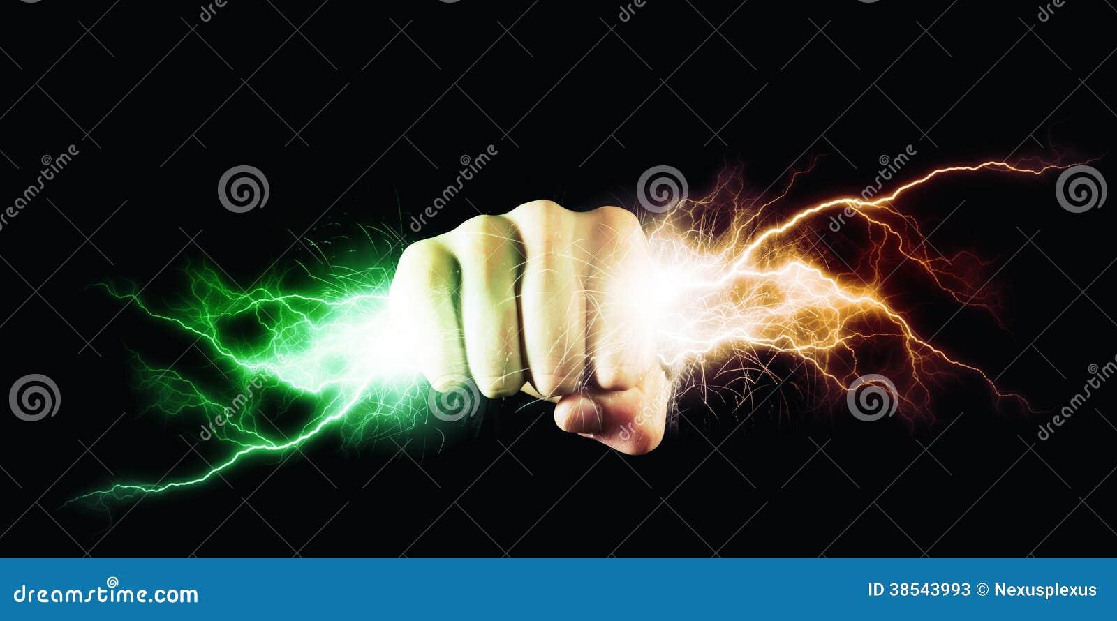 Macht in handen