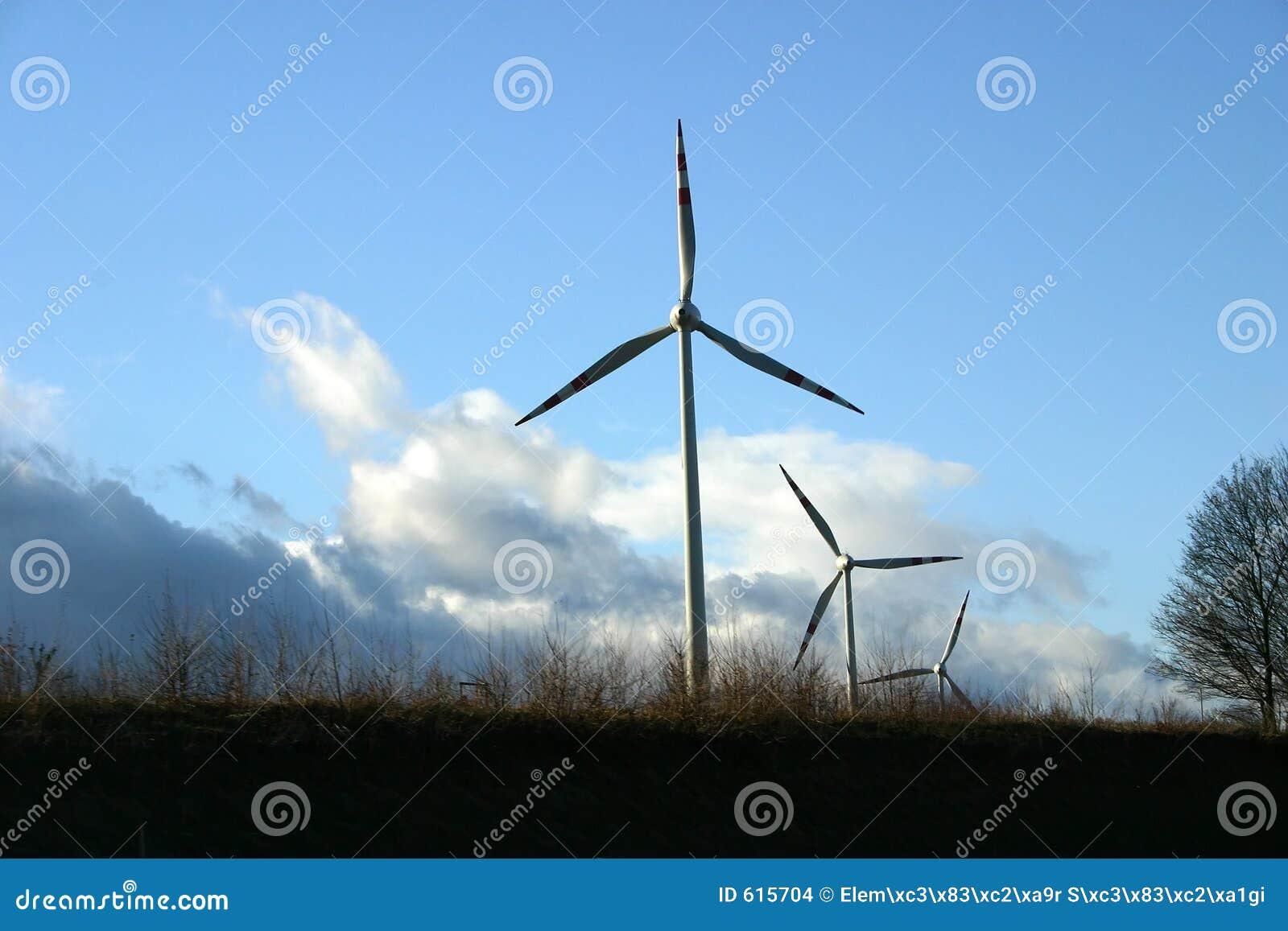 Macht van wind