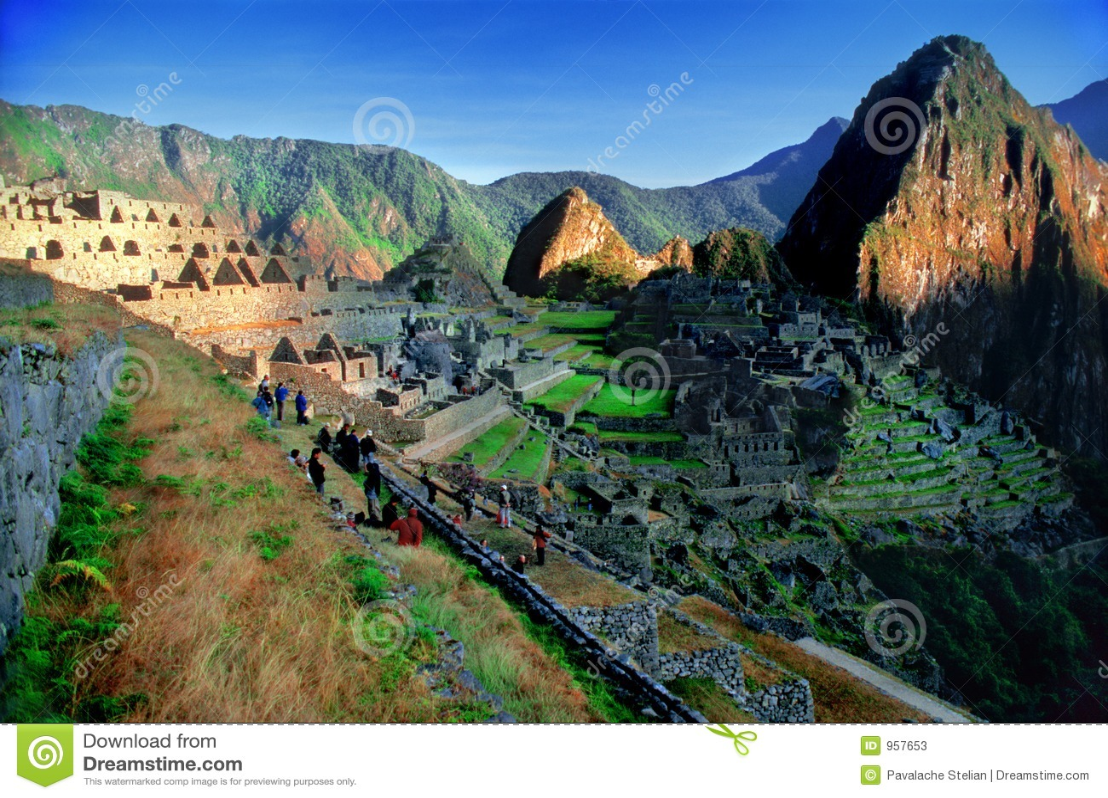 Machu概览秘鲁pichu