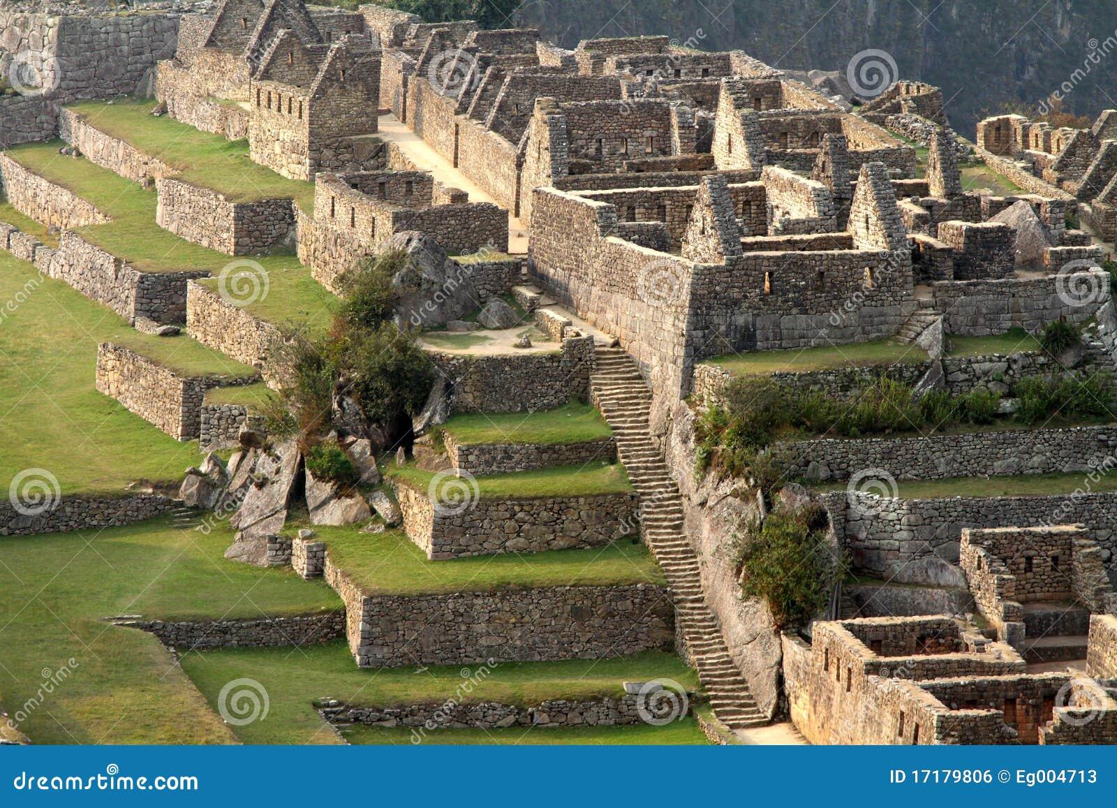 Machu秘鲁picchu