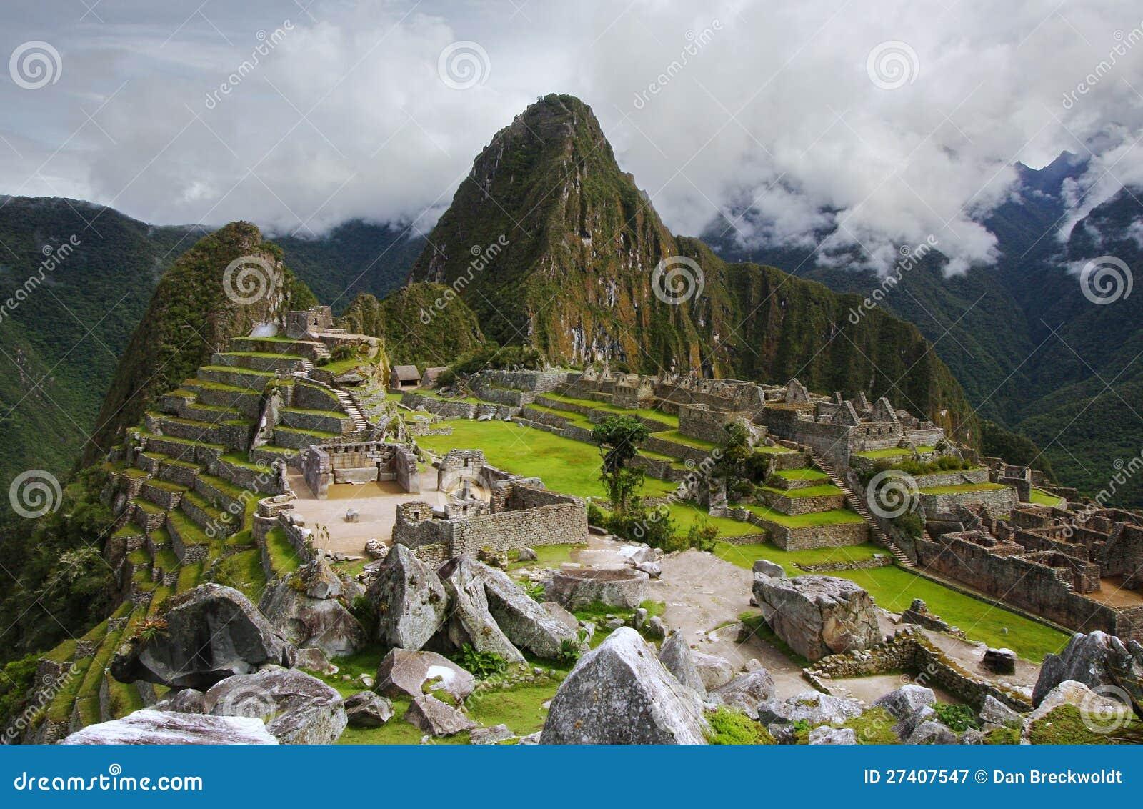Machu Picchu в Перу