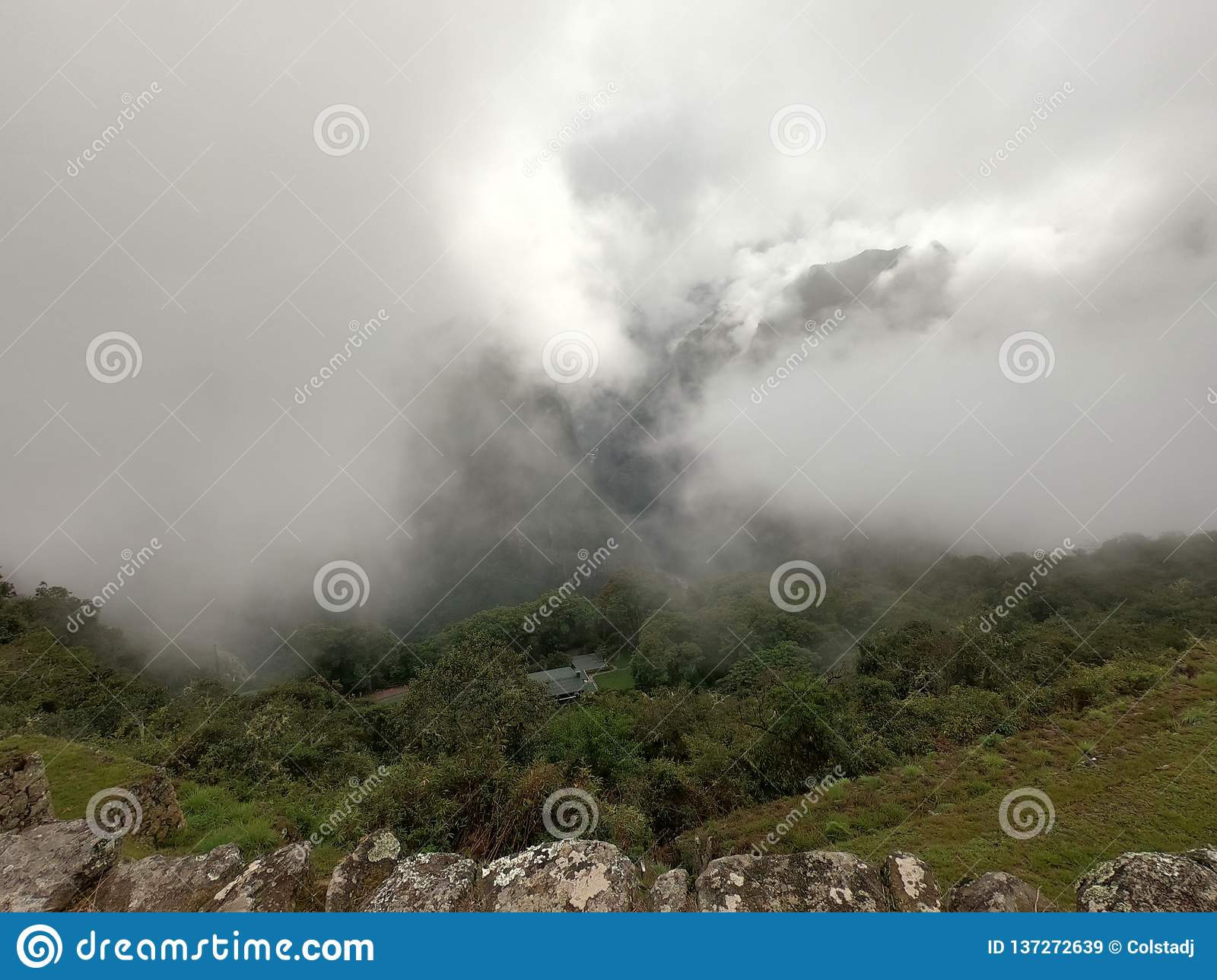 Machu Picchu Amongst the Clouds