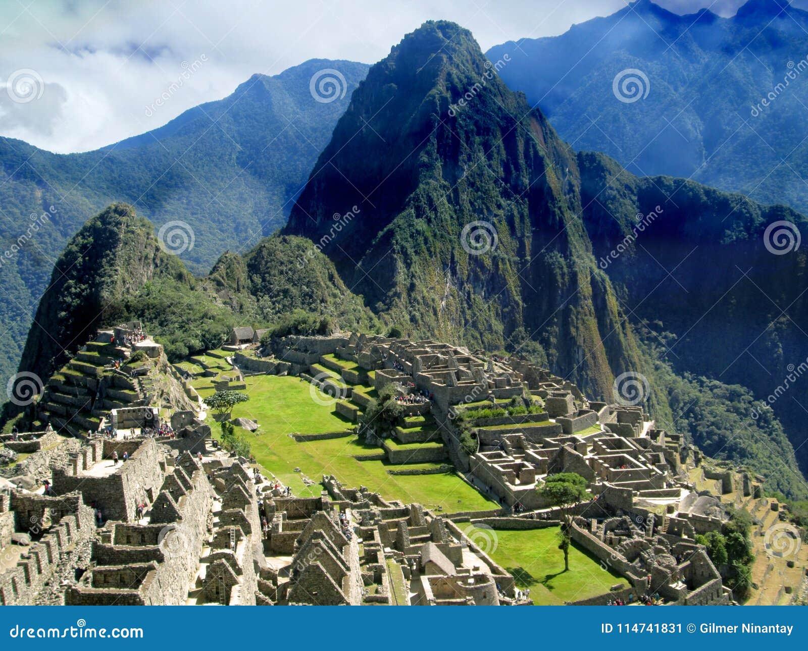 Machu Picchu, ciudad del inca en Perú