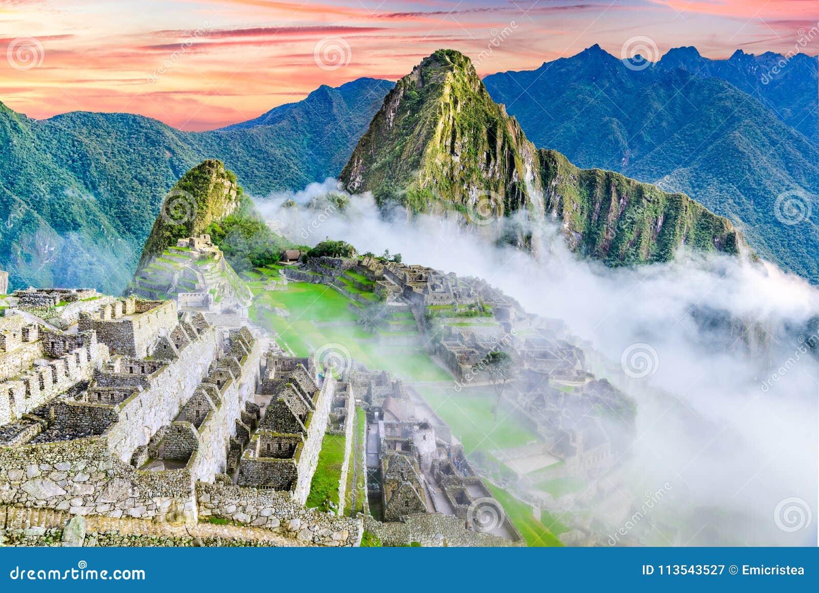 Machu Picchu, Cusco au Pérou
