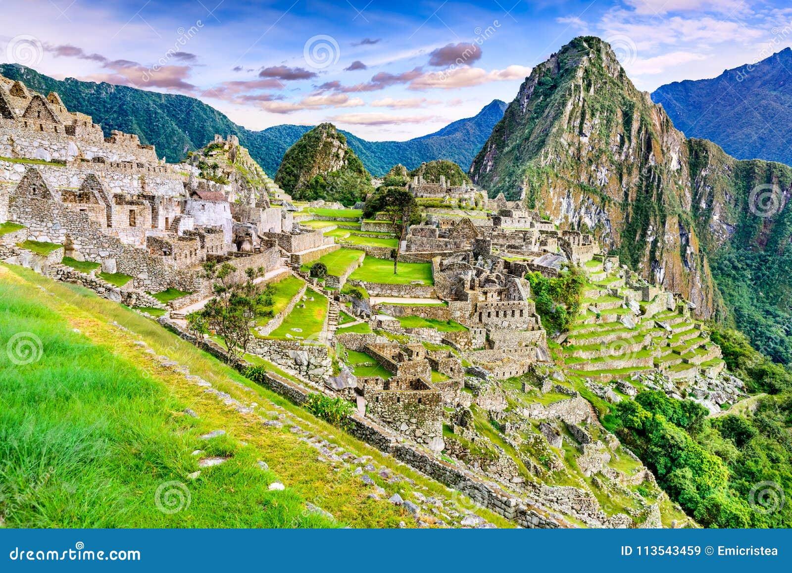 Machu Picchu, Cusco nel Perù