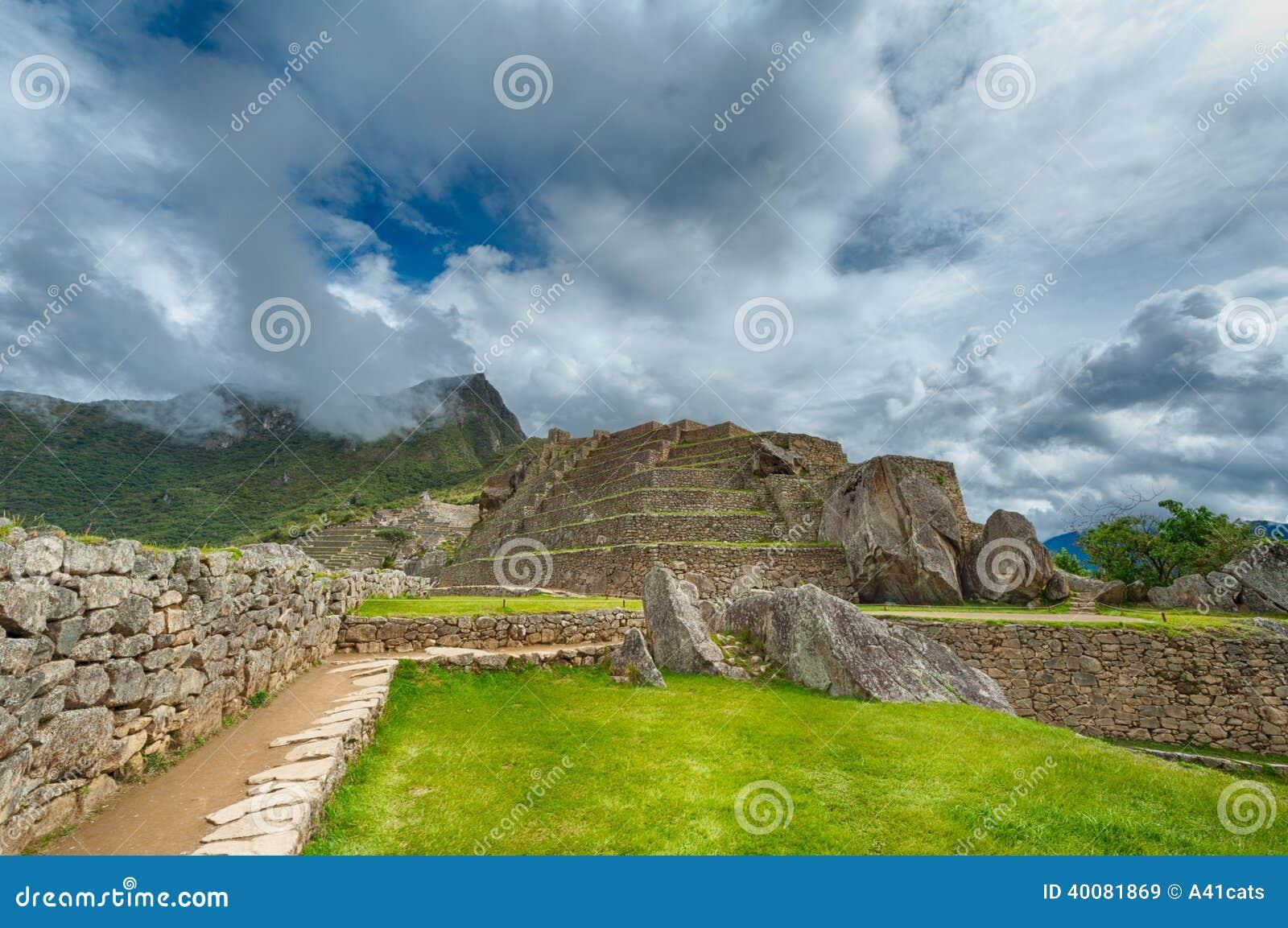 Machu Picchu details